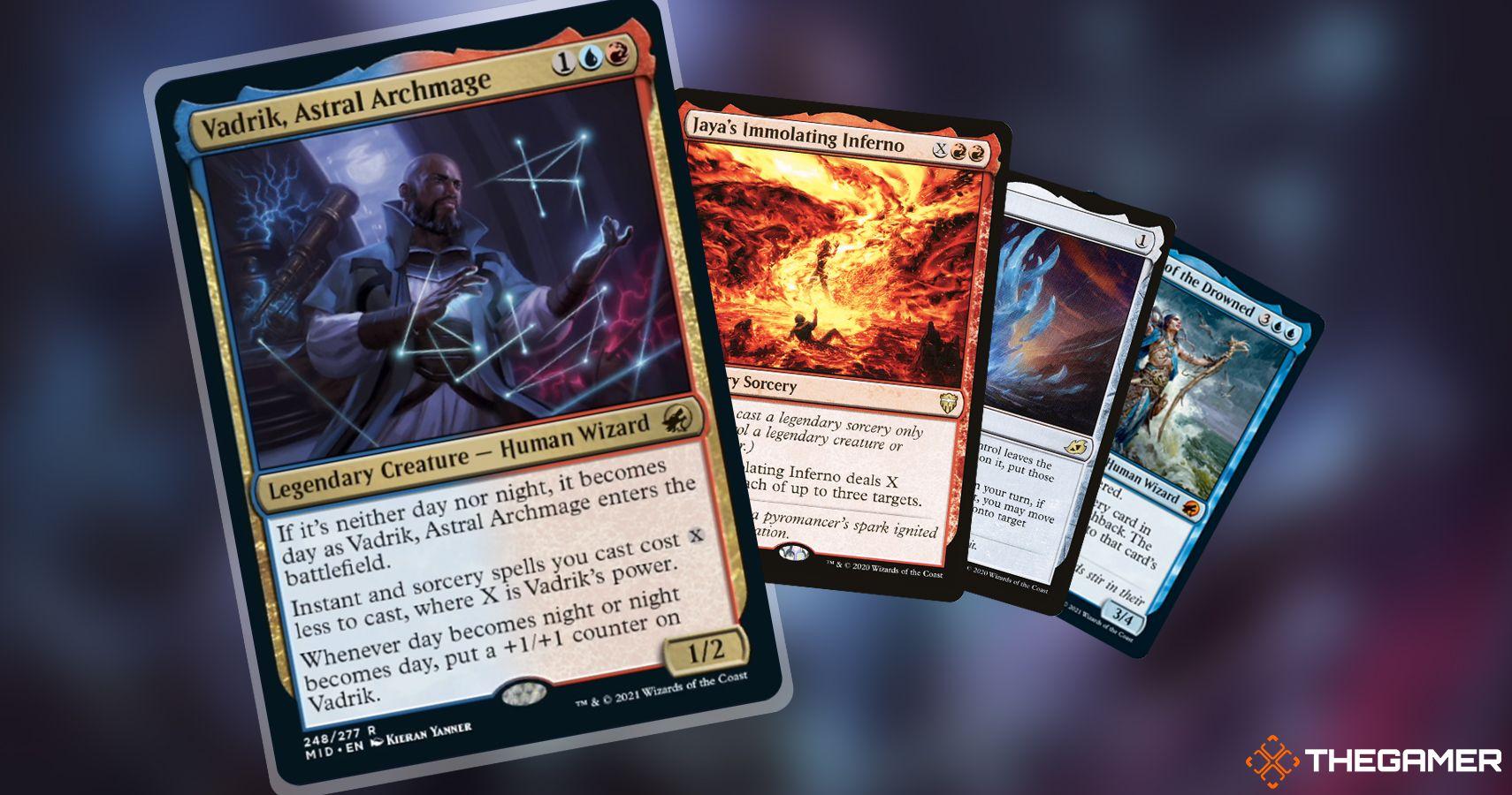 Magic The Gathering Commander Deck Brew: quema a tus oponentes con Vadrik, Astral Archmage