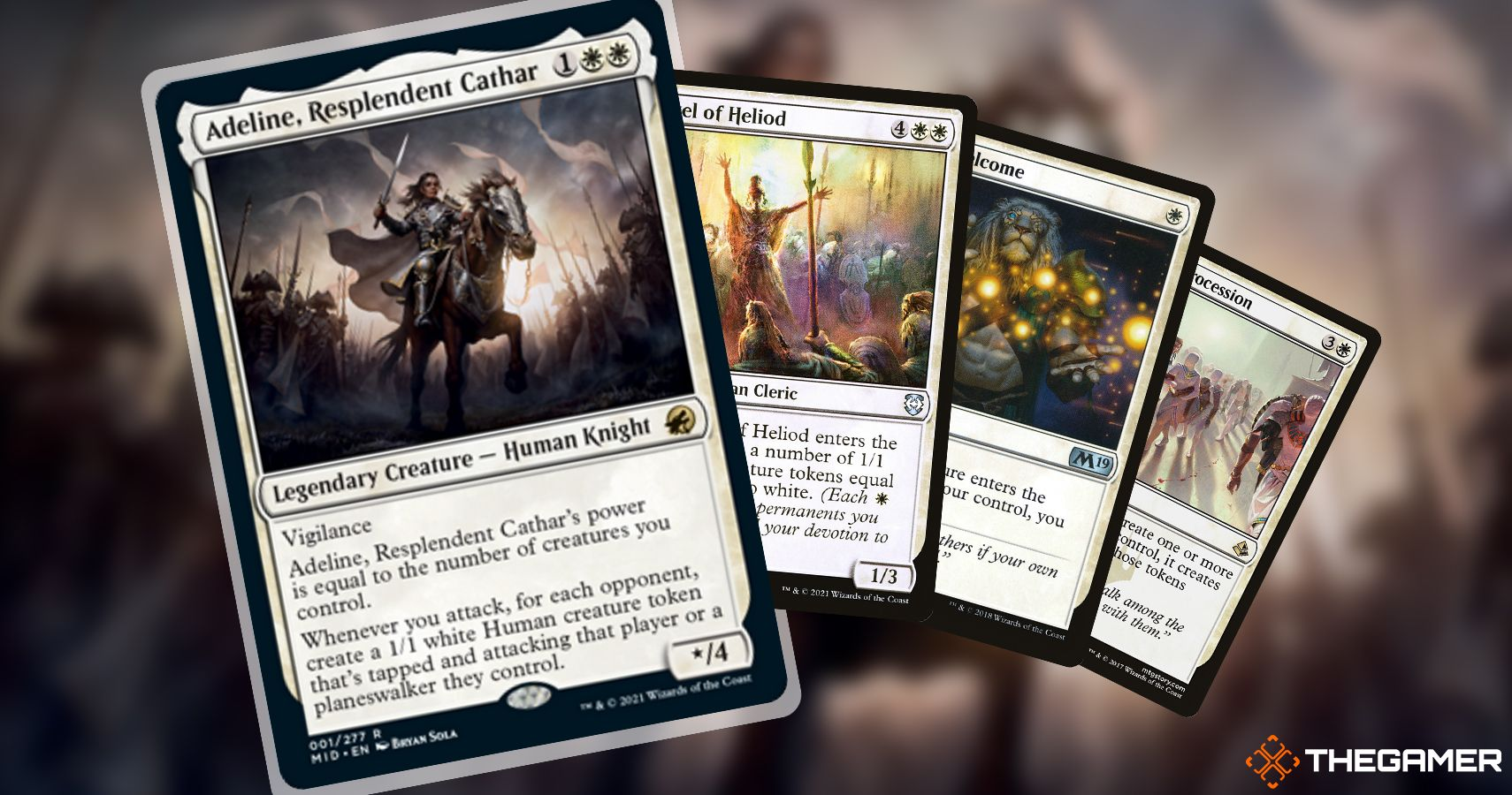 Magic The Gathering Commander Deck Brew: reúne a las tropas con Adeline, la resplandeciente cátara