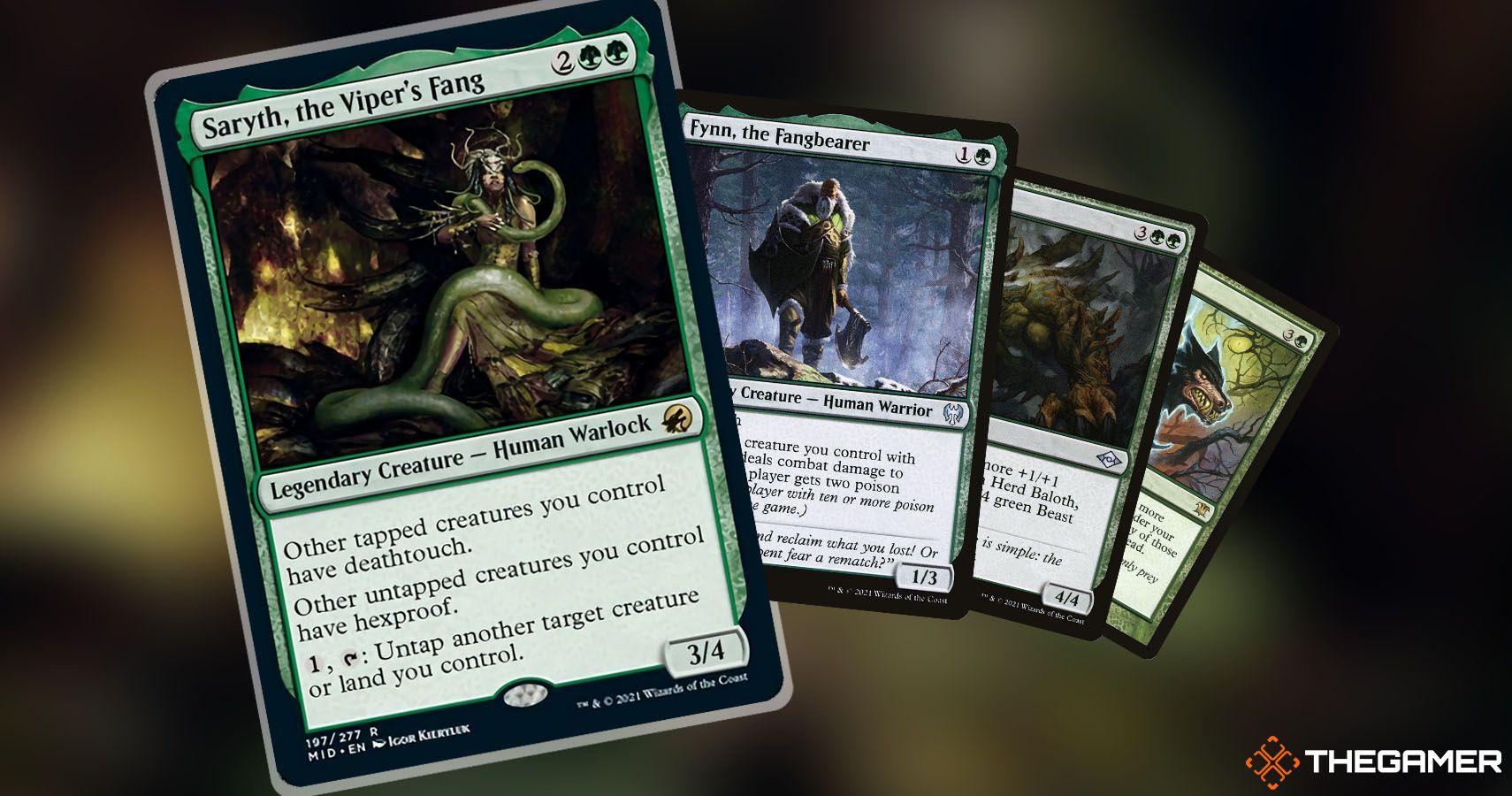 Magic The Gathering Commander Deck Brew: toque mortal en toda la mesa con Saryth, el colmillo de víbora