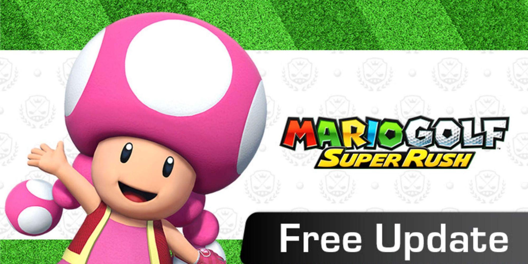 Mario Golf: Super Rush: todo lo que hay que saber sobre la nueva actualización
