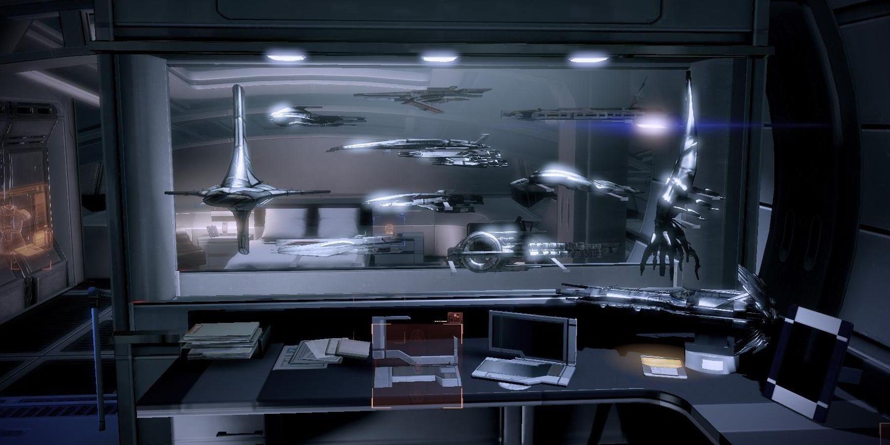Mass Effect 2: Guía de modelos de barcos