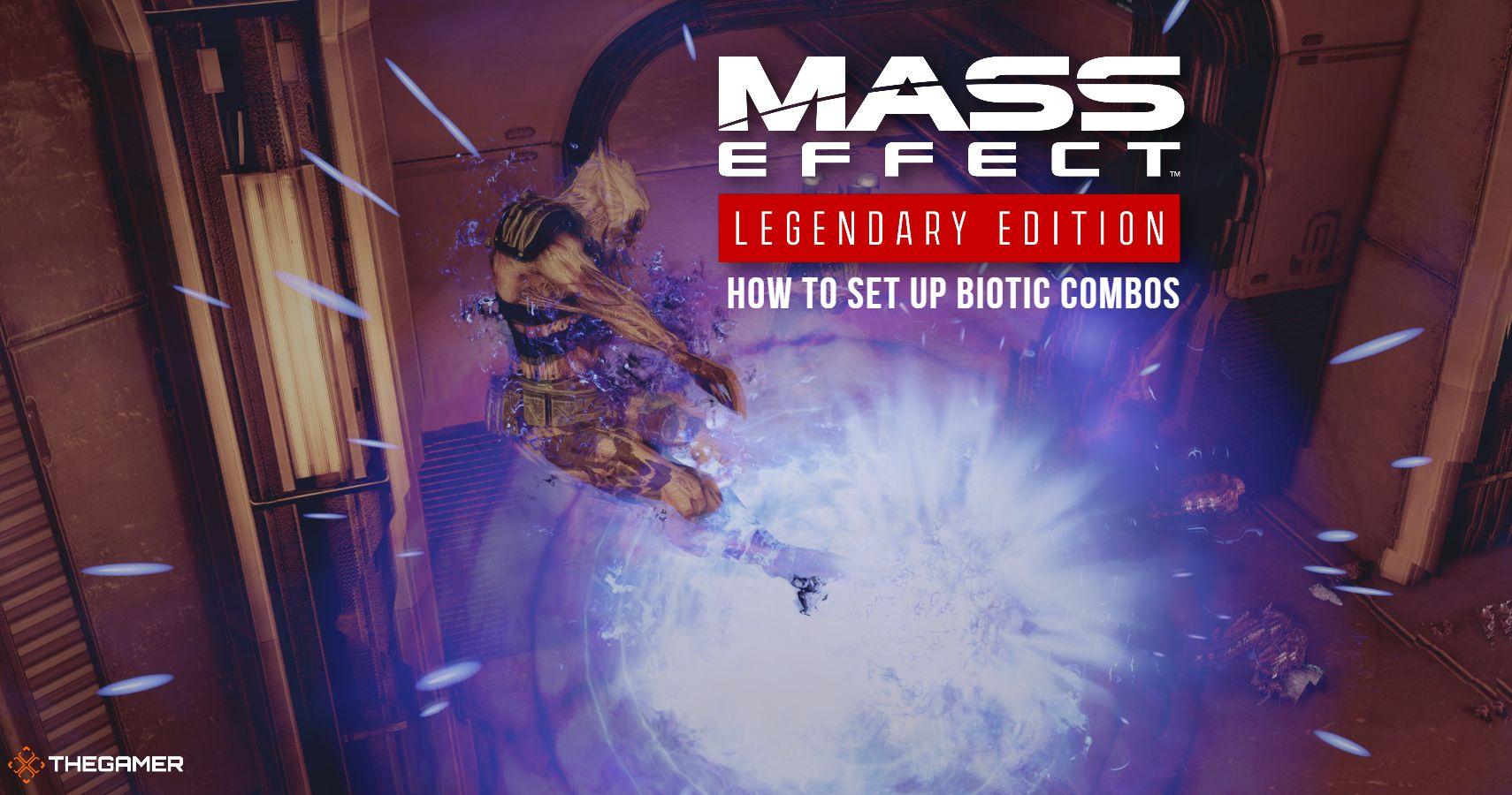 Mass Effect Legendary Edition: Cómo configurar combinaciones bióticas