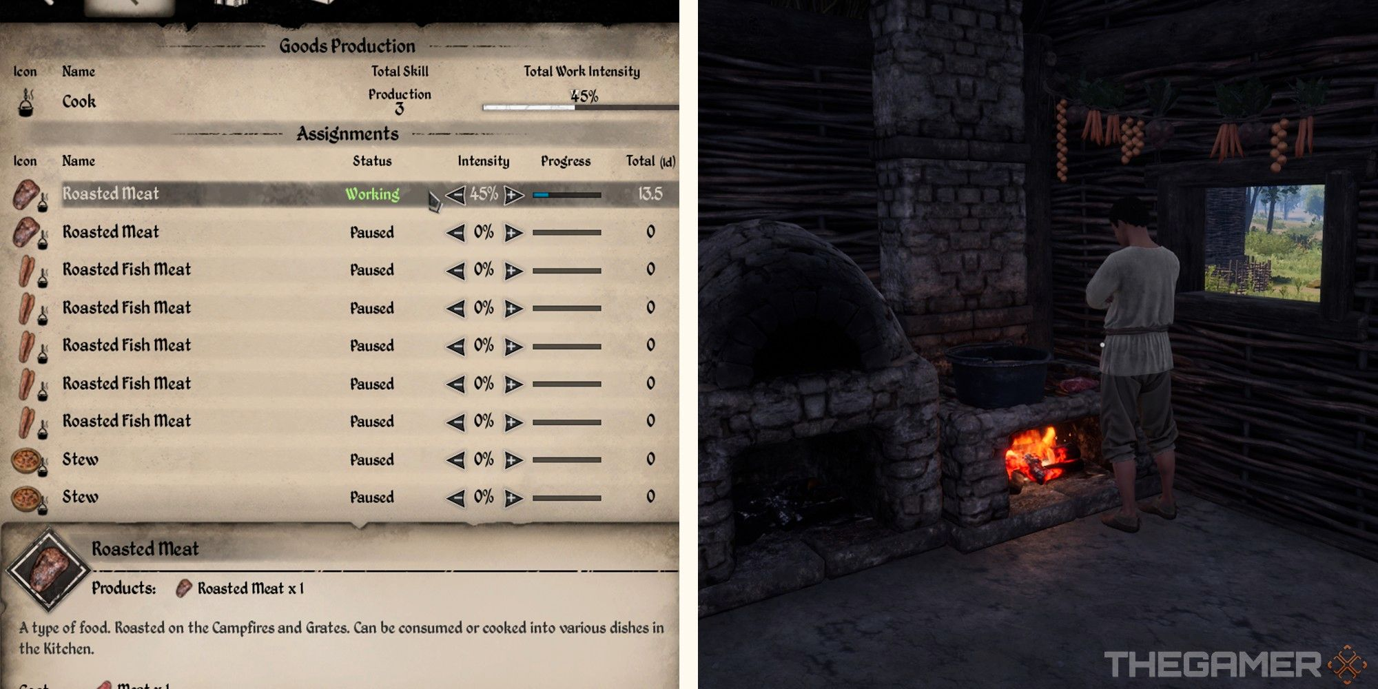 Dinastía medieval: cómo administrar los trabajos de los aldeanos