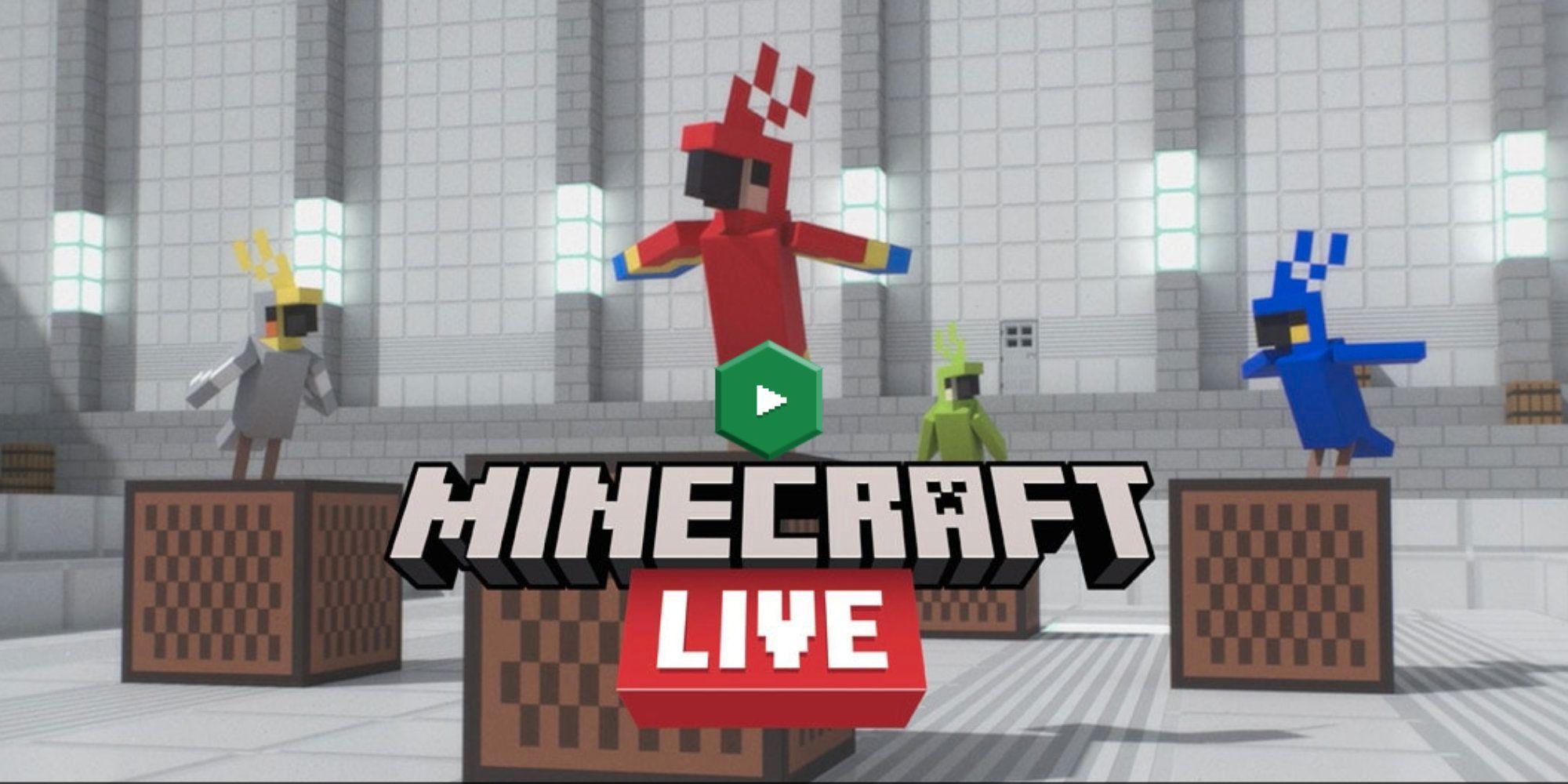 Minecraft Live 2021: dónde verlo y cómo votar
