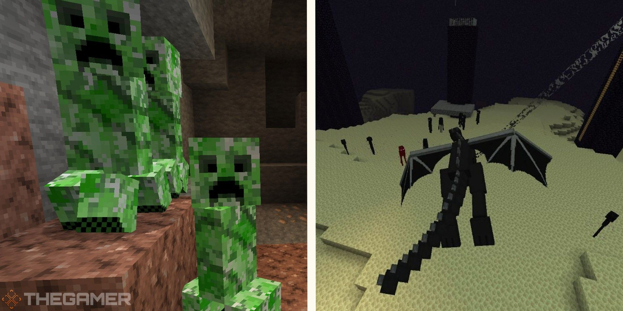 Minecraft: cada mafia y lo que sueltan