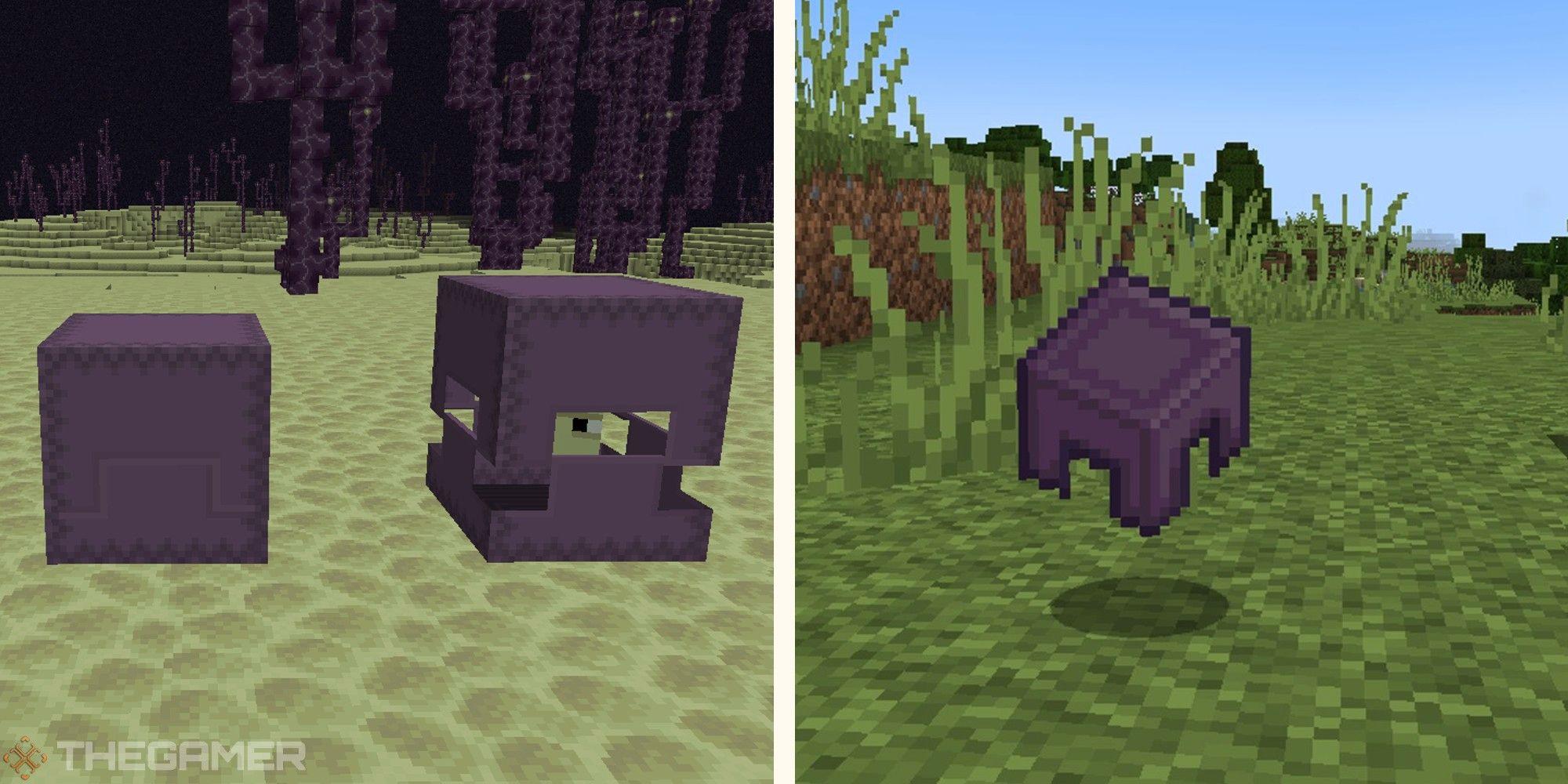 Minecraft: todo lo que necesitas saber sobre Shulkers