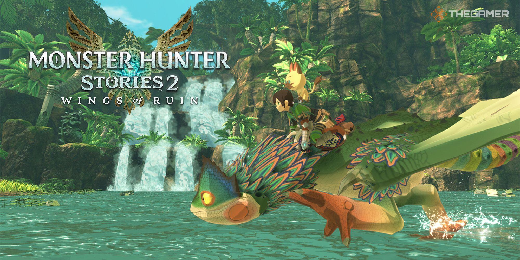 Monster Hunter Stories 2: todos los monstruos, huevos y objetos encontrados en la isla Hakolo
