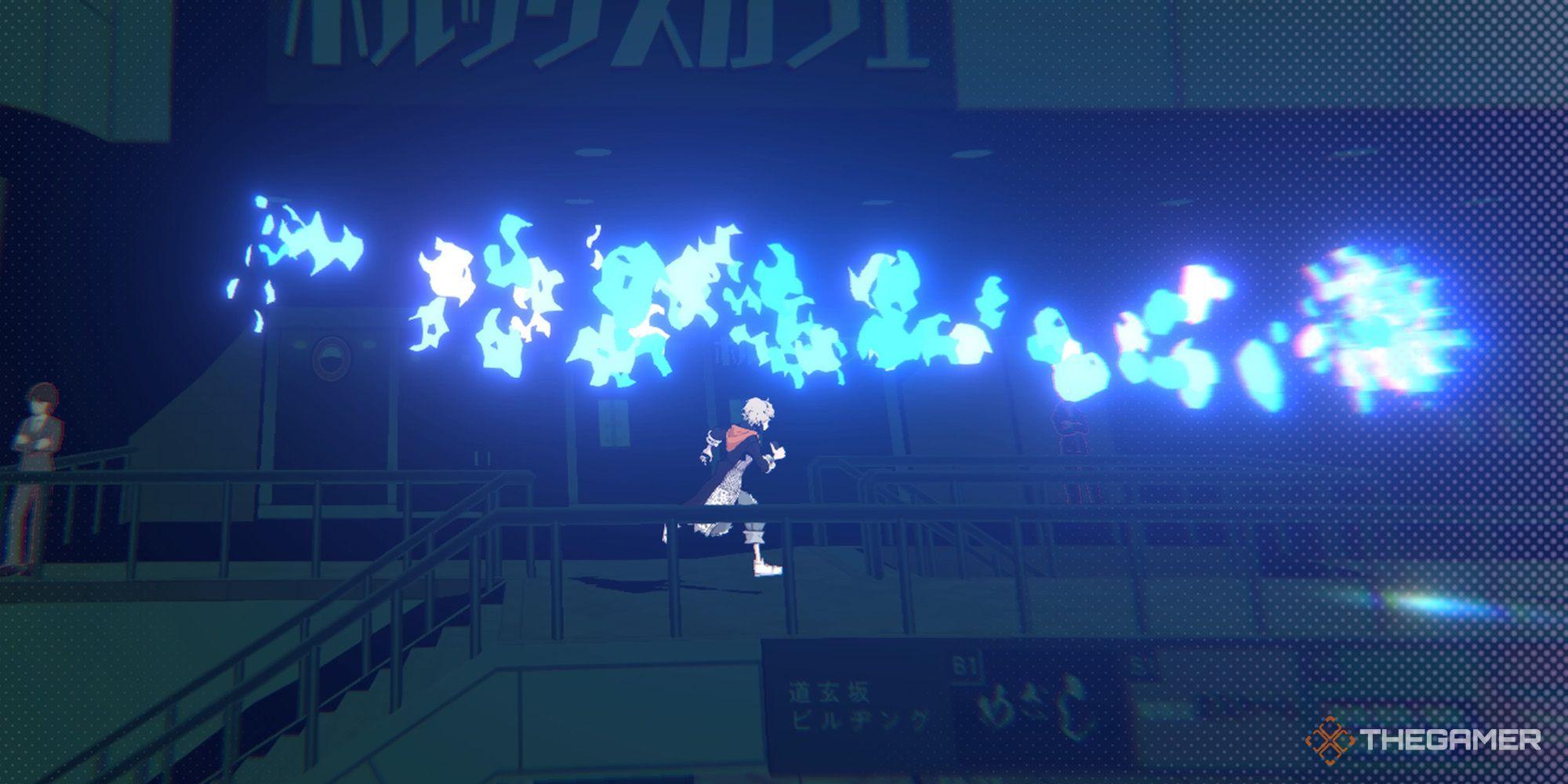 NEO: El mundo termina contigo - Guía de ruido azul