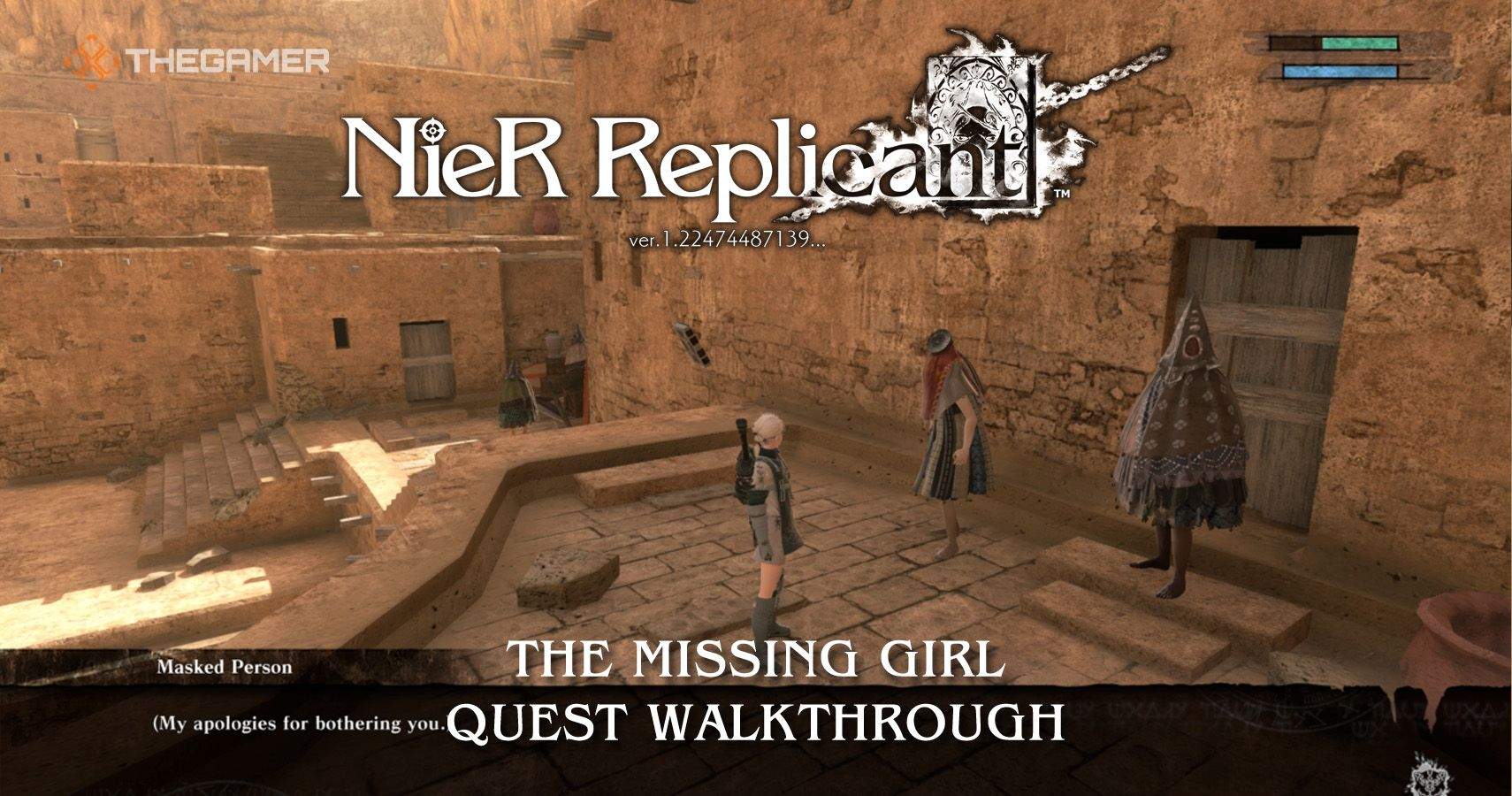 Nier Replicant: The Missing Girl Quest Tutorial