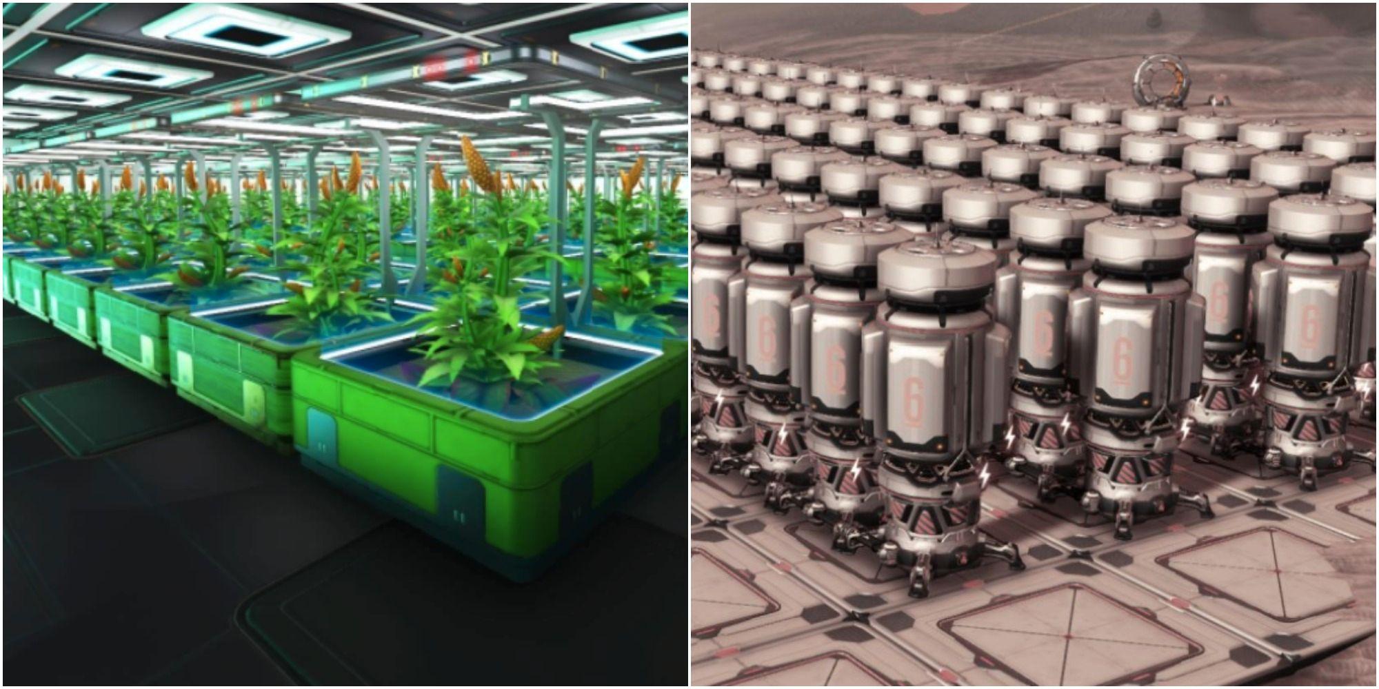 No Man's Sky: Cómo crear una granja para obtener el máximo beneficio