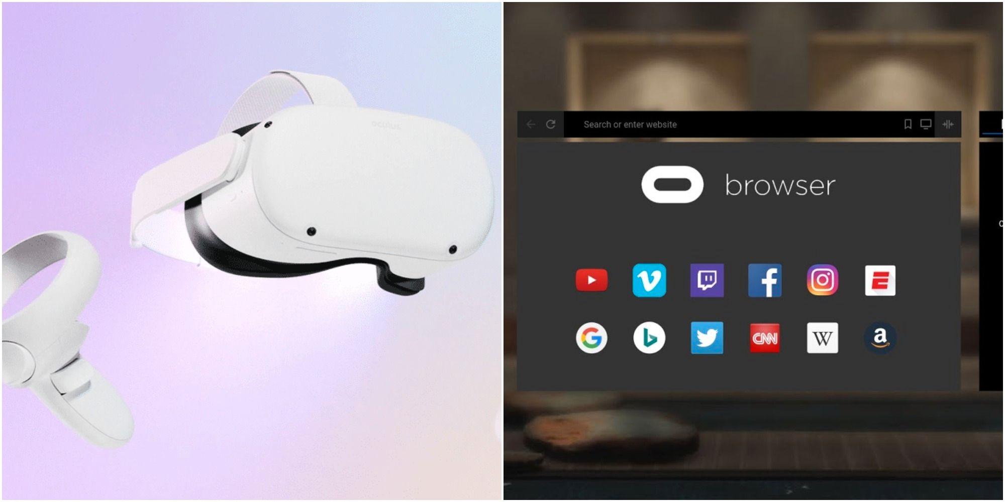 Oculus Quest 2: Cómo navegar por la Web