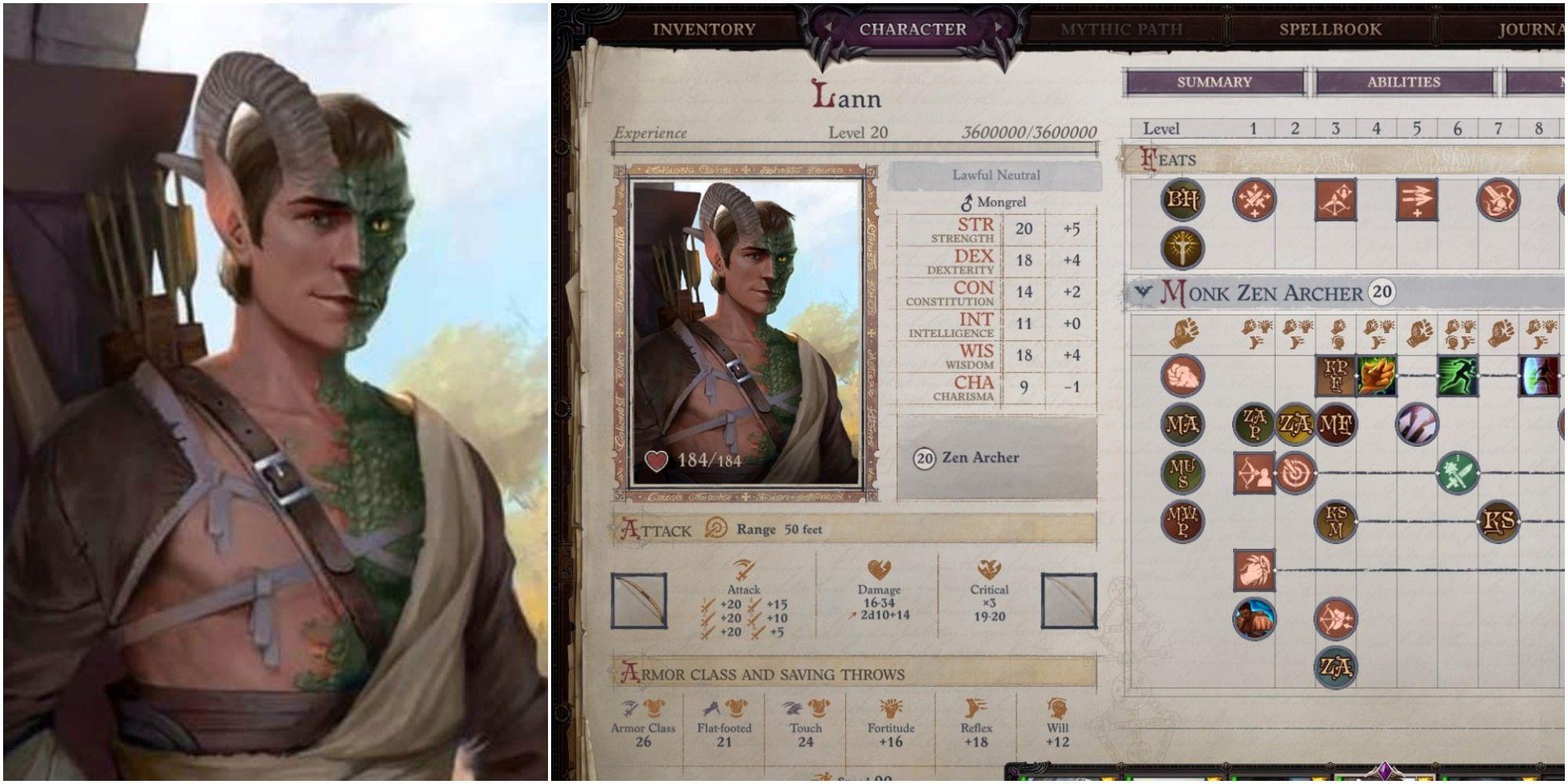 Pathfinder: Wrath of the Righteous - Mejores construcciones de Lann