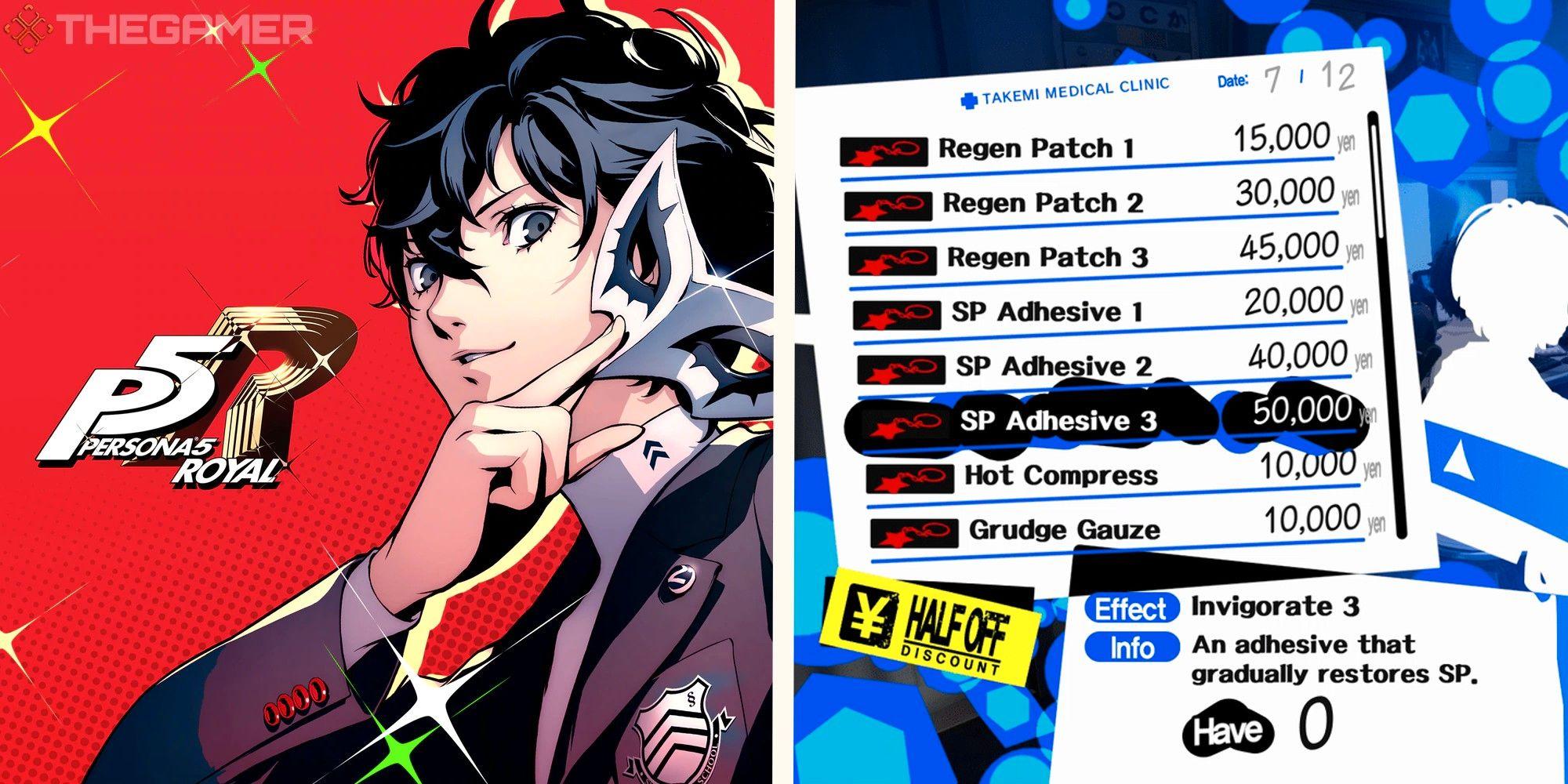 Persona 5 Royal: todas las formas en que puedes recuperar SP