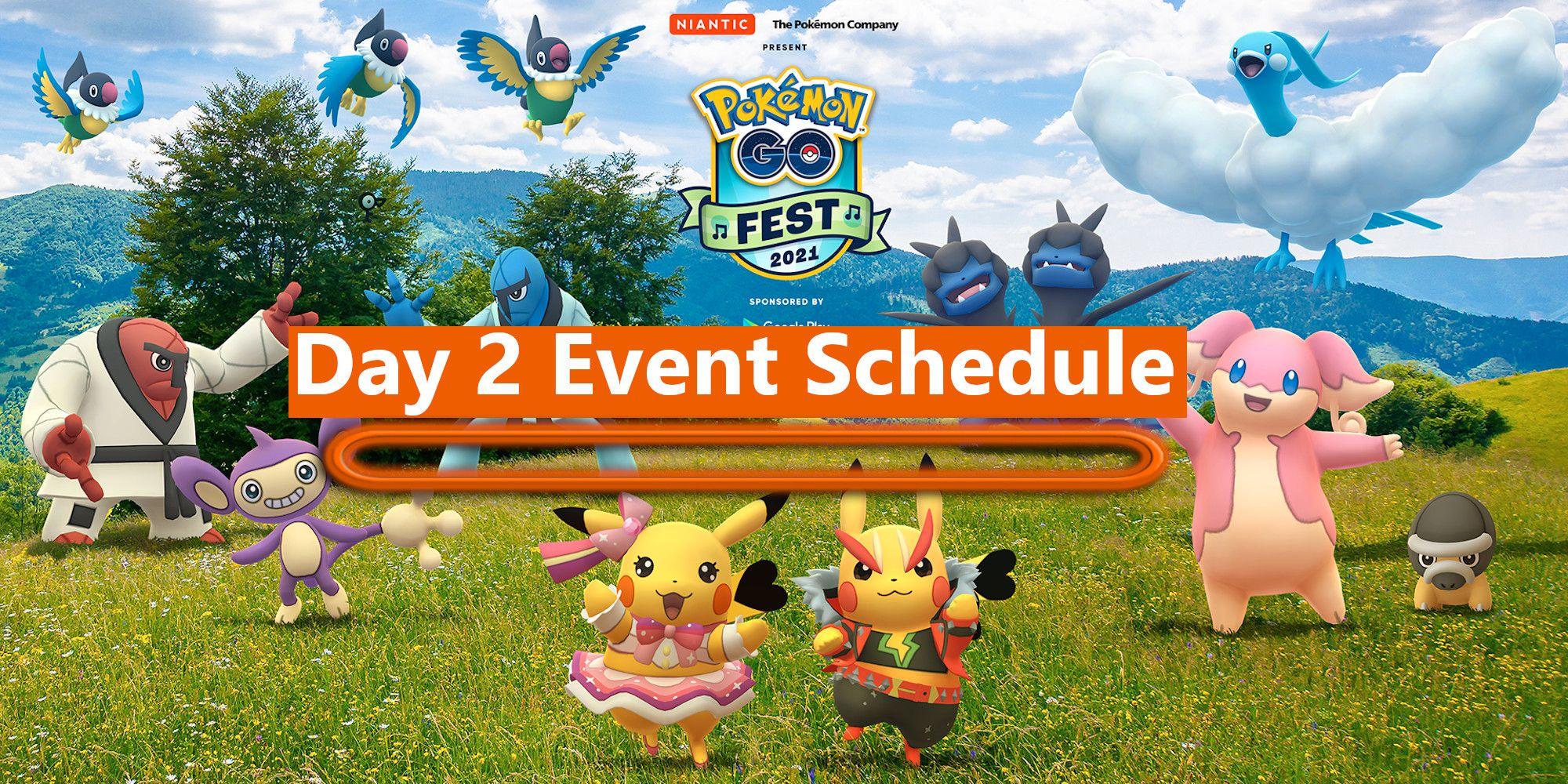 Pokémon GO Fest 2021: todo sucedió el segundo día - domingo
