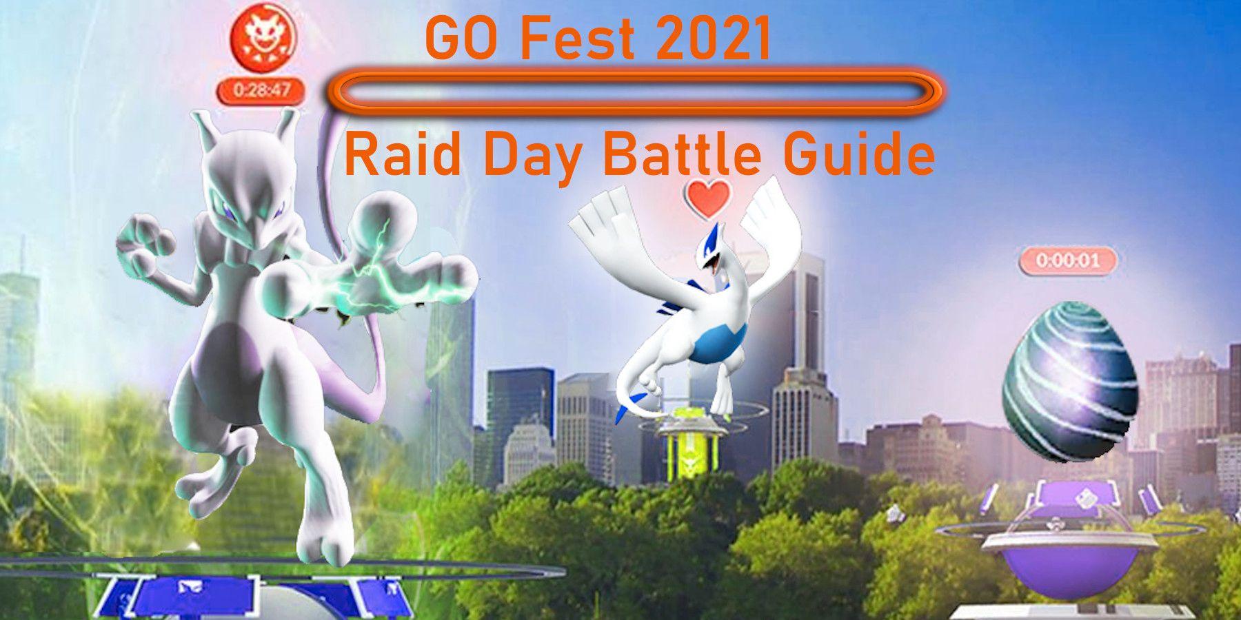 Pokémon GO Fest 2021: todos los legendarios que aparecen en incursiones y cómo vencerlos