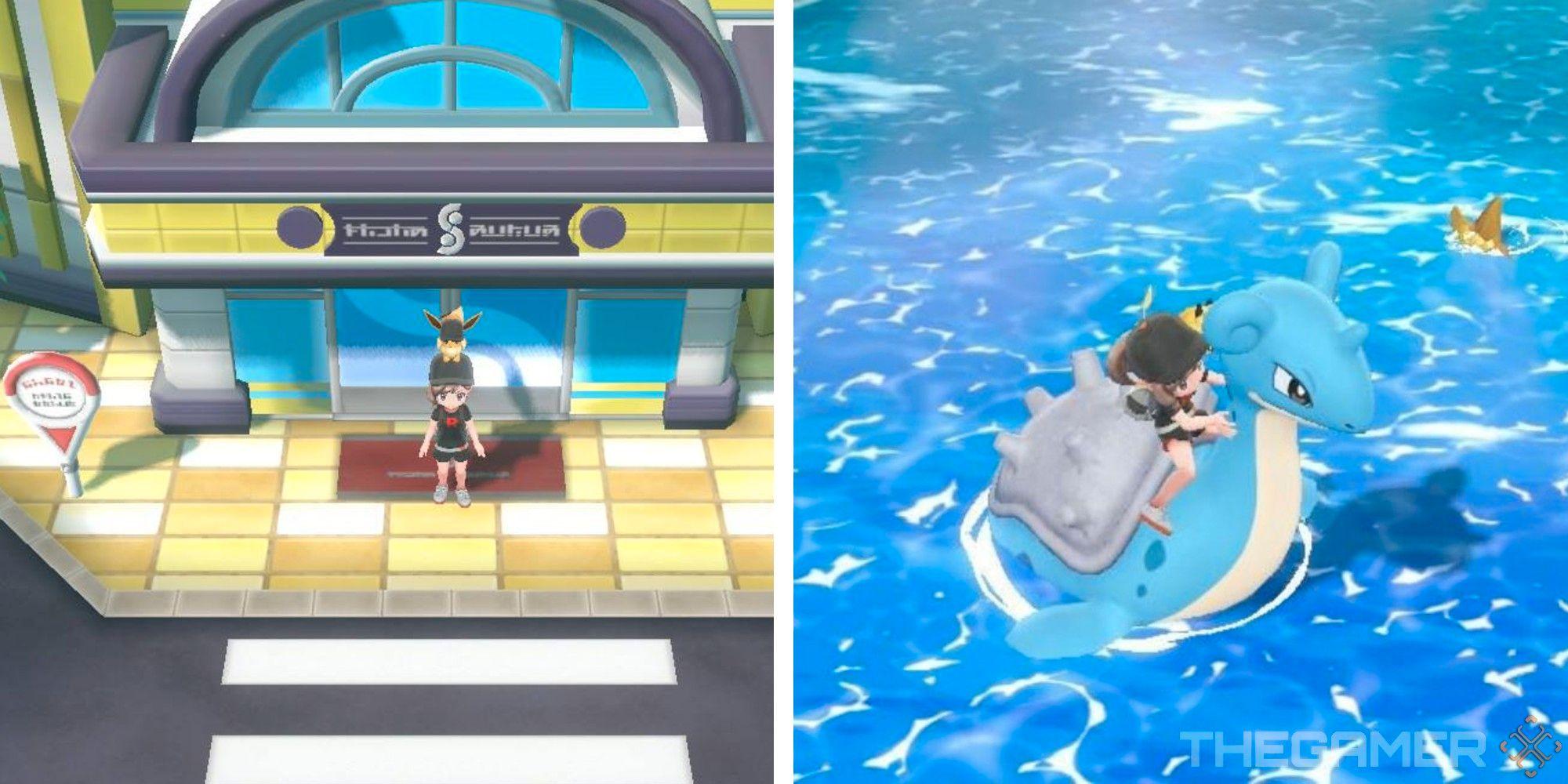 Pokemon Let's Go: Dónde conseguir Lapras