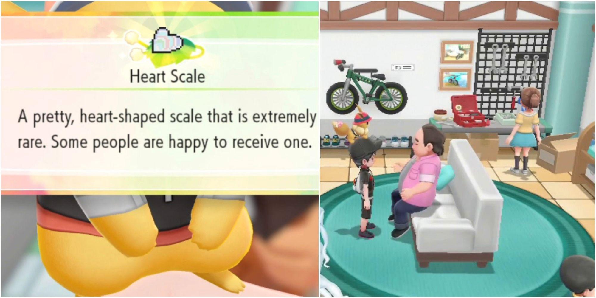 Pokemon Let's Go: Dónde encontrar escamas de corazón