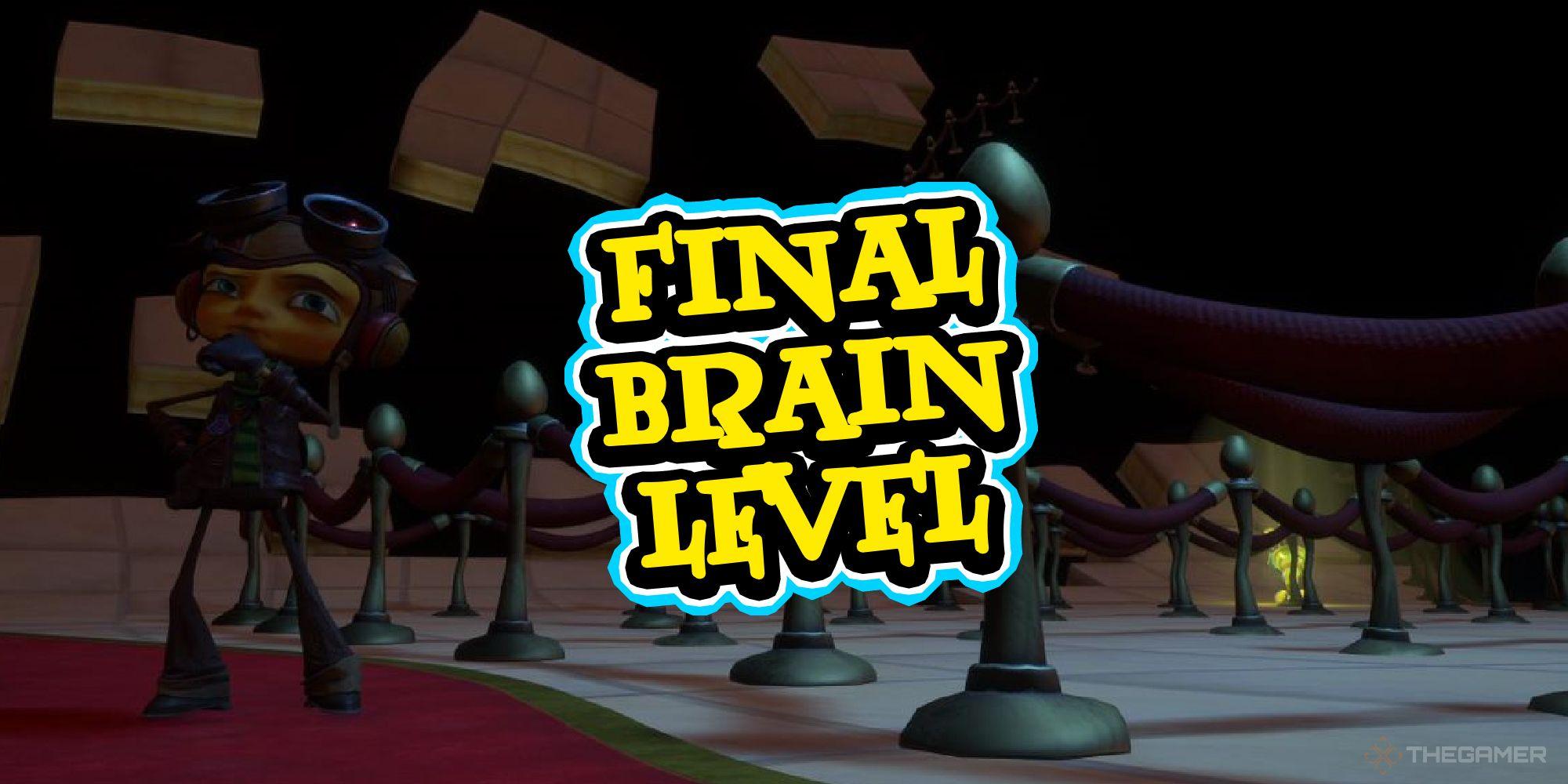 Psychonauts 2 - Coleccionables de nivel cerebral final