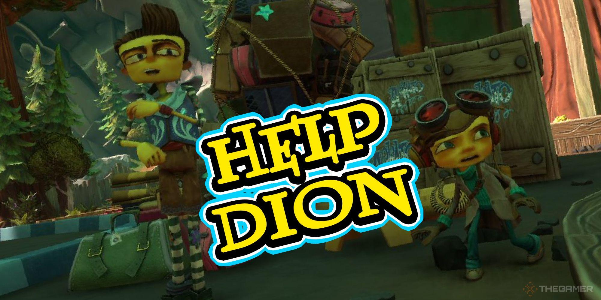 Psychonauts 2 - Cómo ayudar a Dion a instalar el Aquatodome