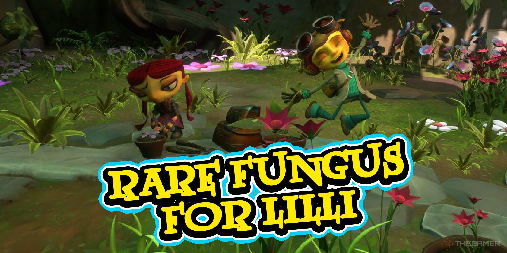 Psychonauts 2 - Cómo encontrar hongos raros para Lilli