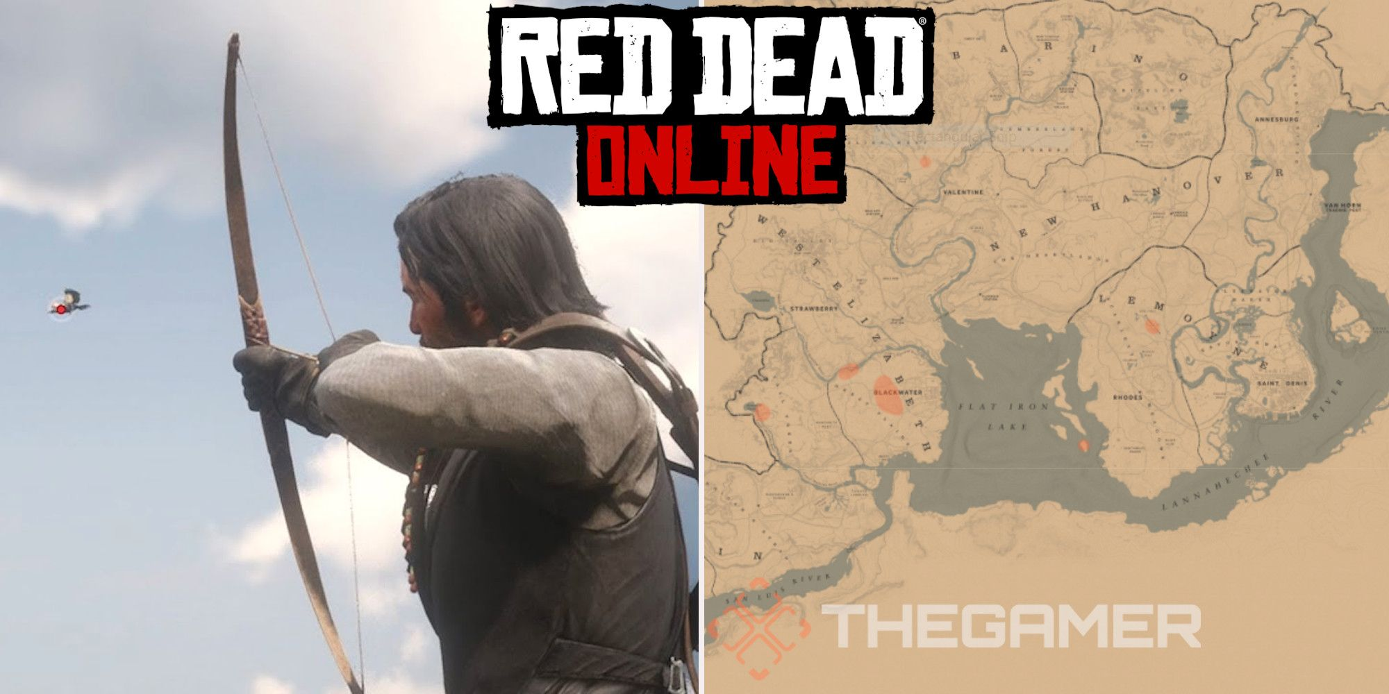 Red Dead Online: Best Western Raven Hunting Locations
