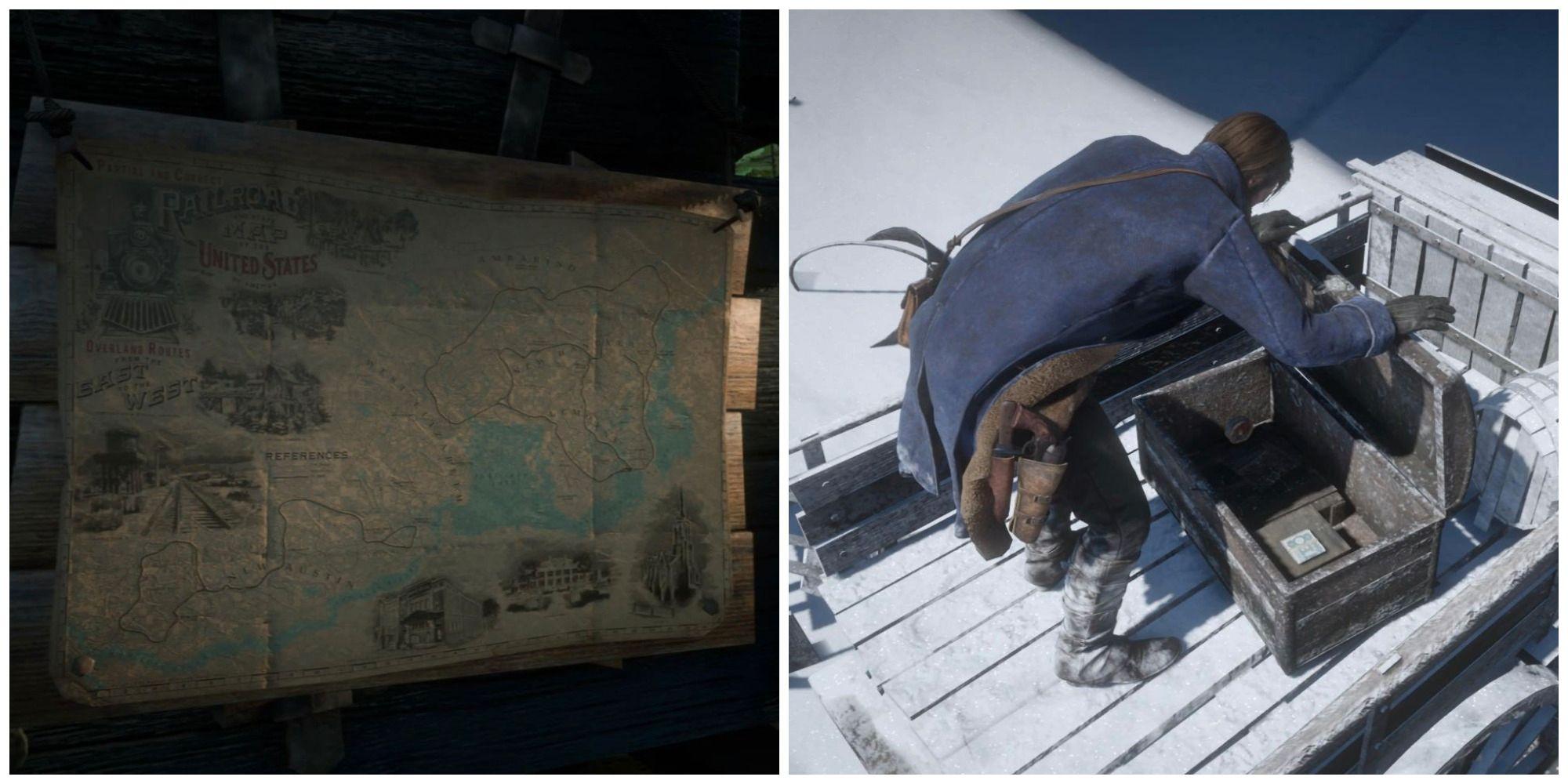 Red Dead Redemption 2: Dónde encontrar madera petrificada de cobalto