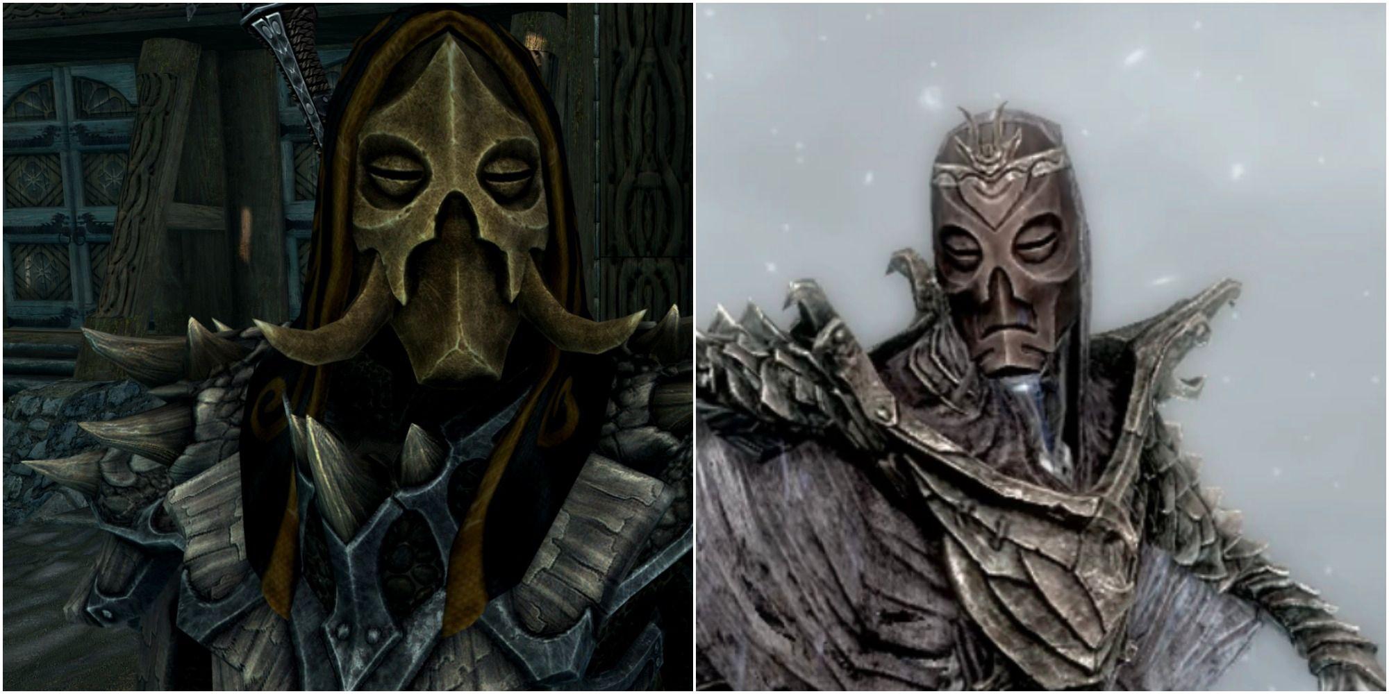 Skyrim: Las mejores máscaras de sacerdotes dragones (y cómo conseguirlas)