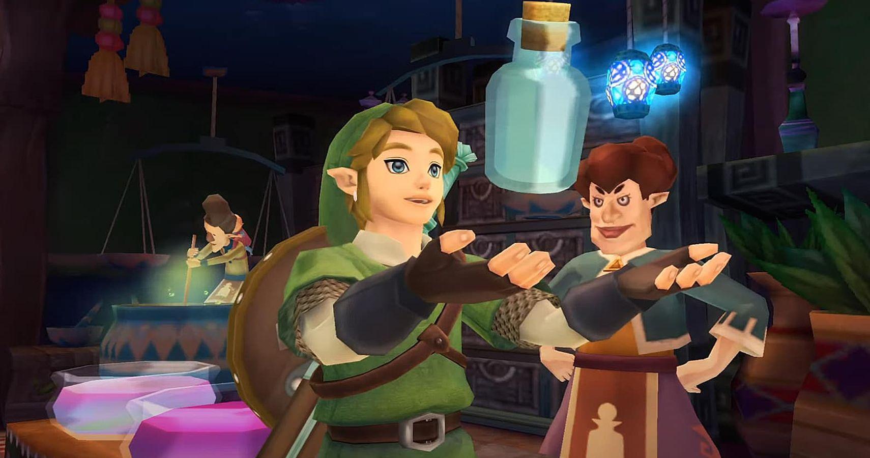 Skyward Sword: dónde encontrar cada botella