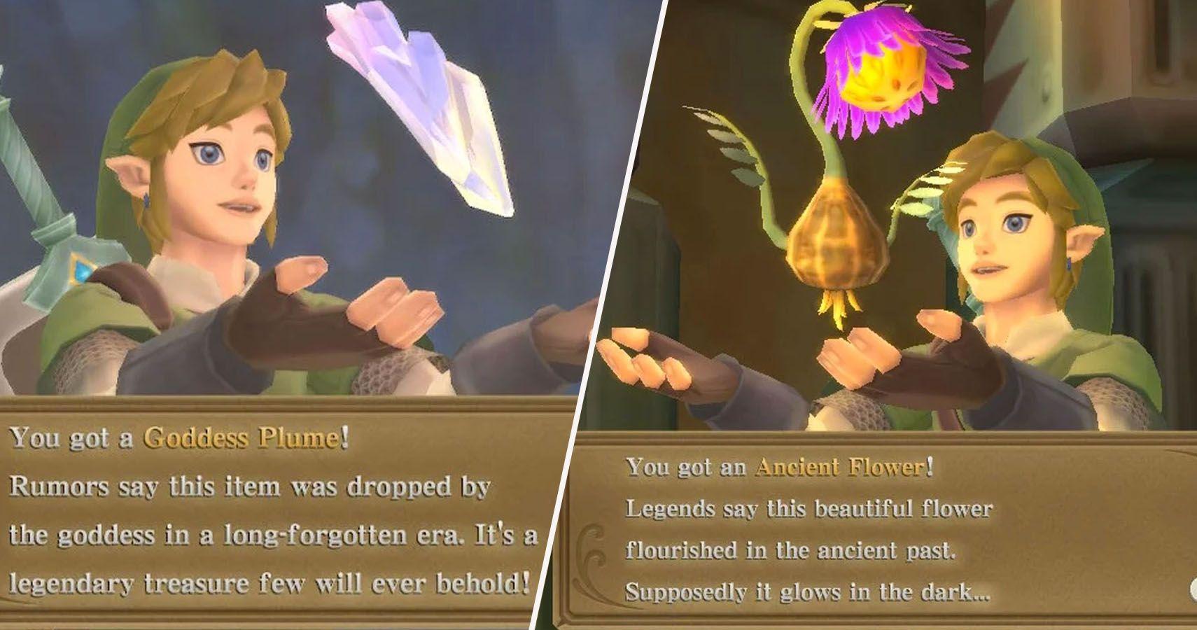 Skyward Sword: dónde encontrar cada tipo de tesoro
