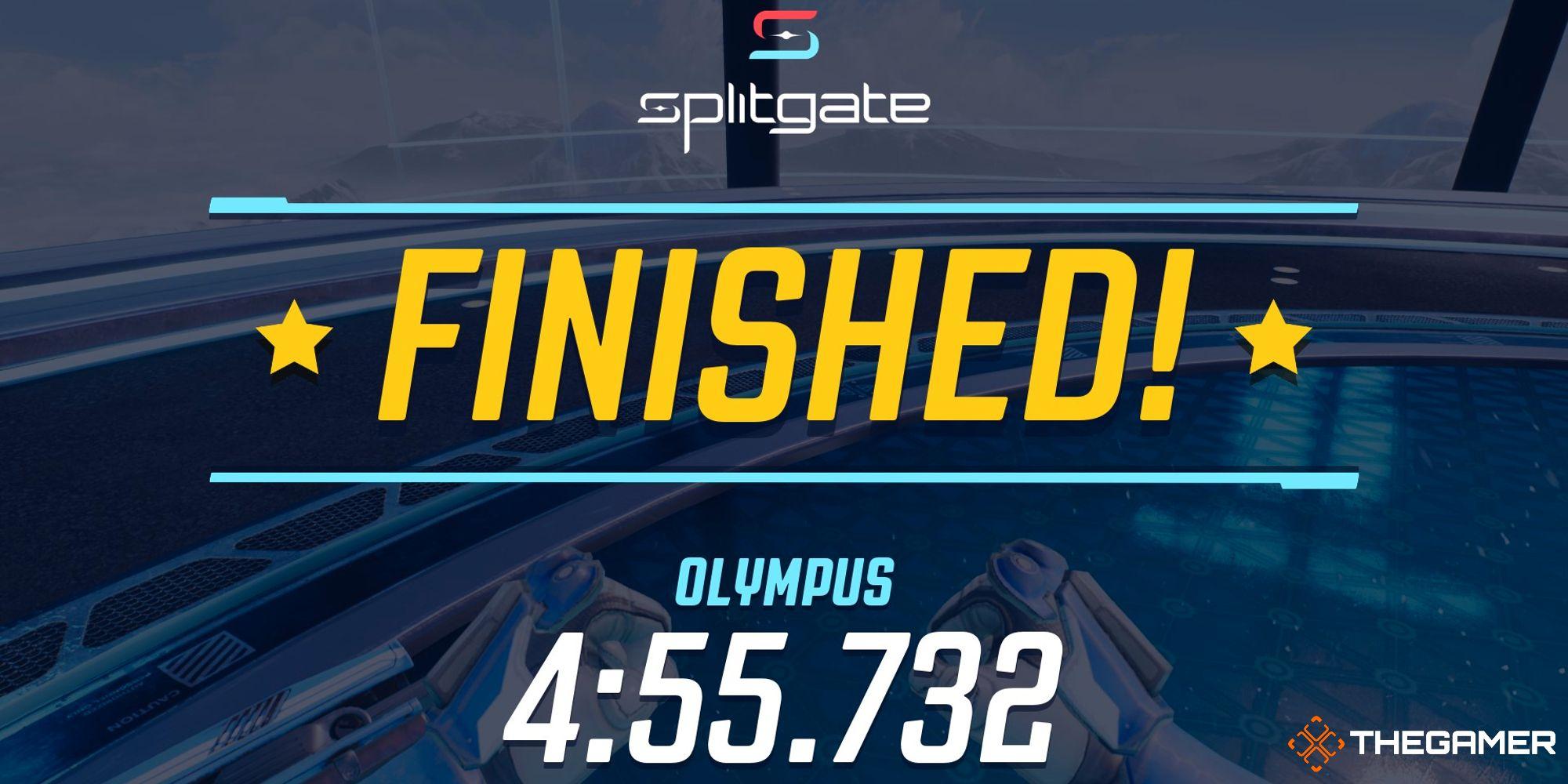 Splitgate: Cómo completar la carrera Olympus