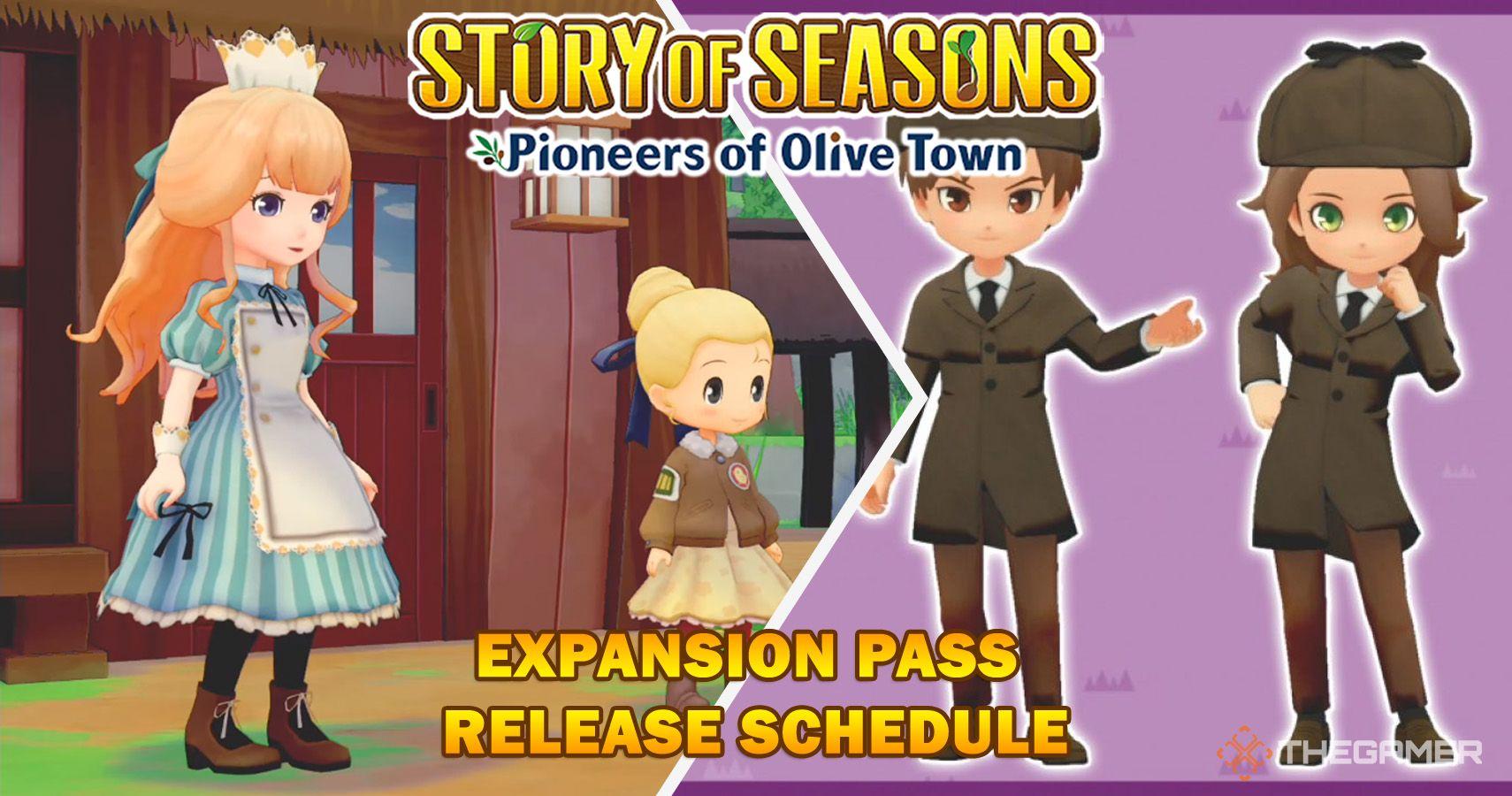 Story Of Seasons: Pioneers Of Olive Town - Calendario de lanzamiento del pase de expansión