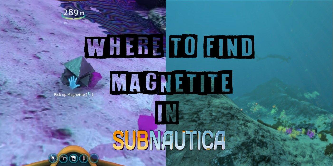Subnautica: Dónde encontrar magnetita