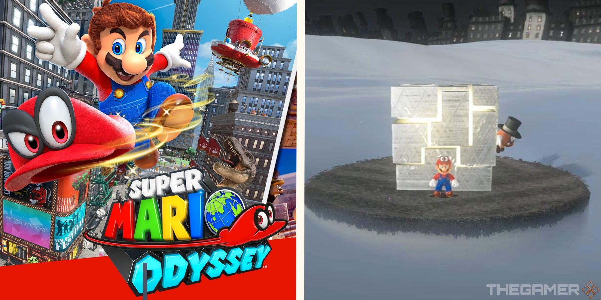 Super Mario Odyssey: Cómo activar los cubos de metal