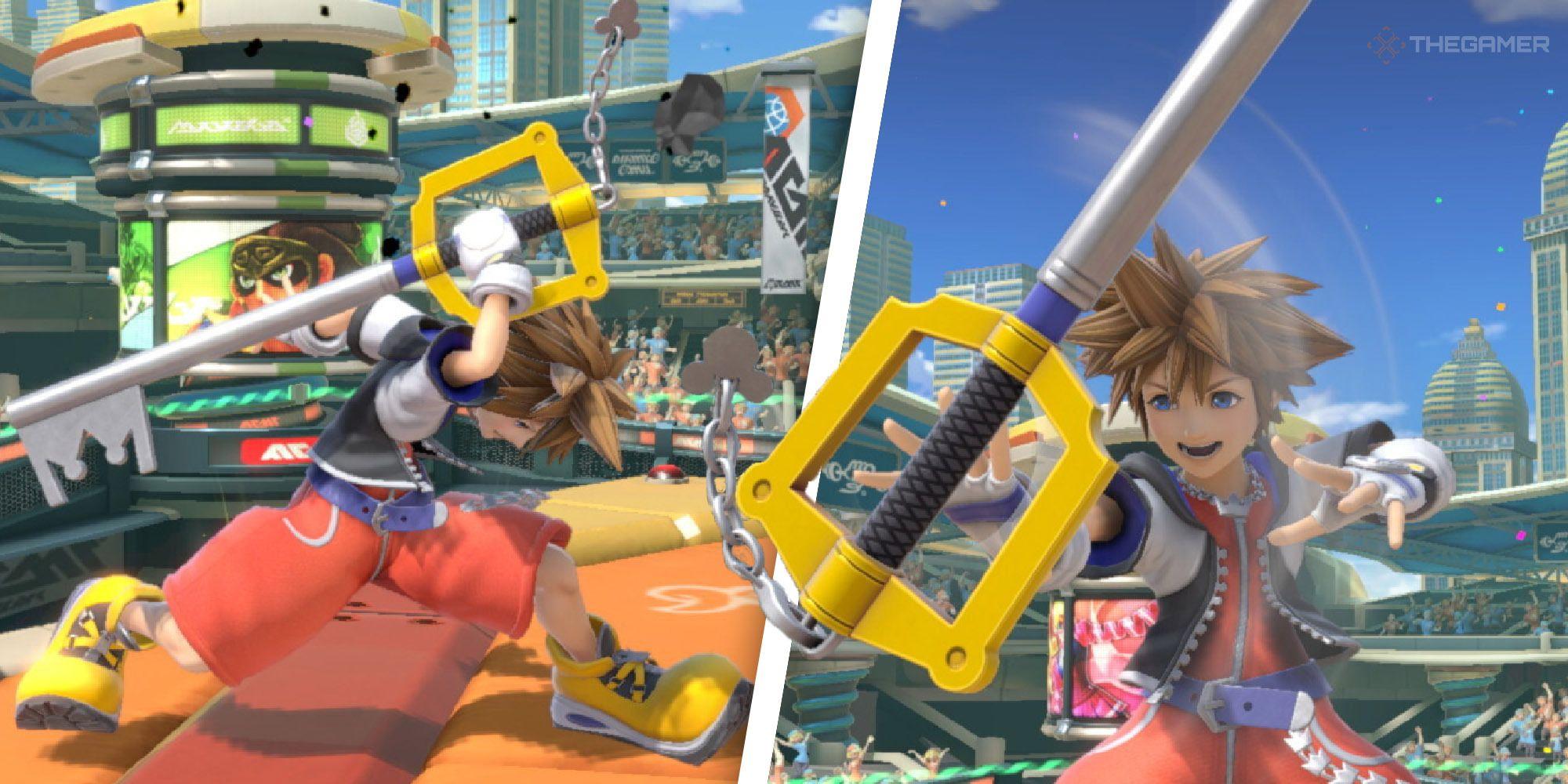 Super Smash Bros.Ultimate: Desglose del conjunto de movimientos de Sora