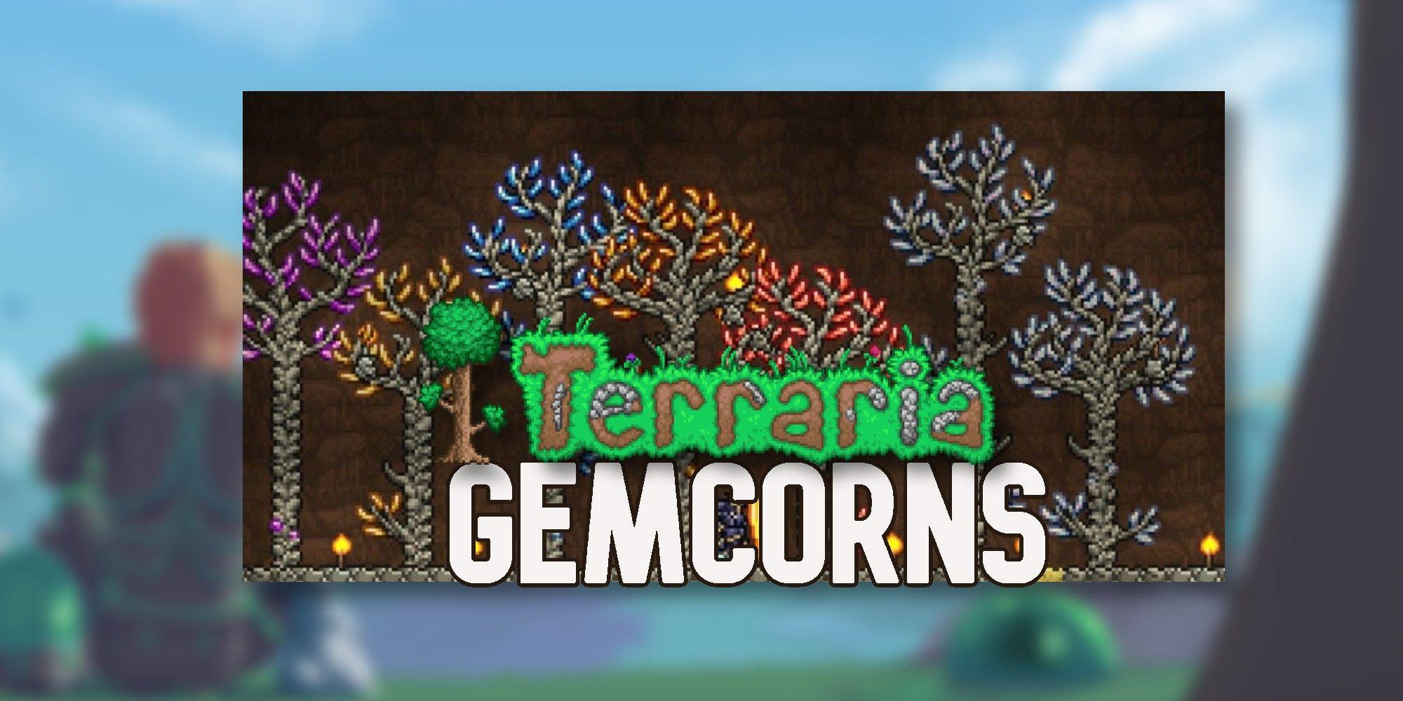 Terraria: Cómo cultivar gemas