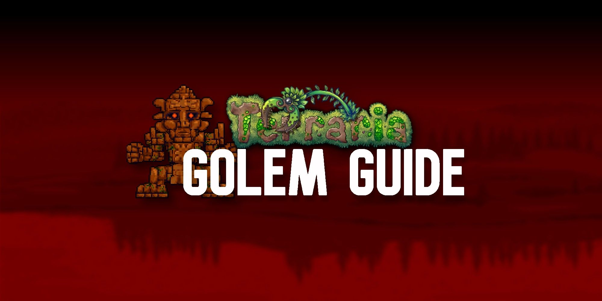 Terraria: Guía de Golem Boss