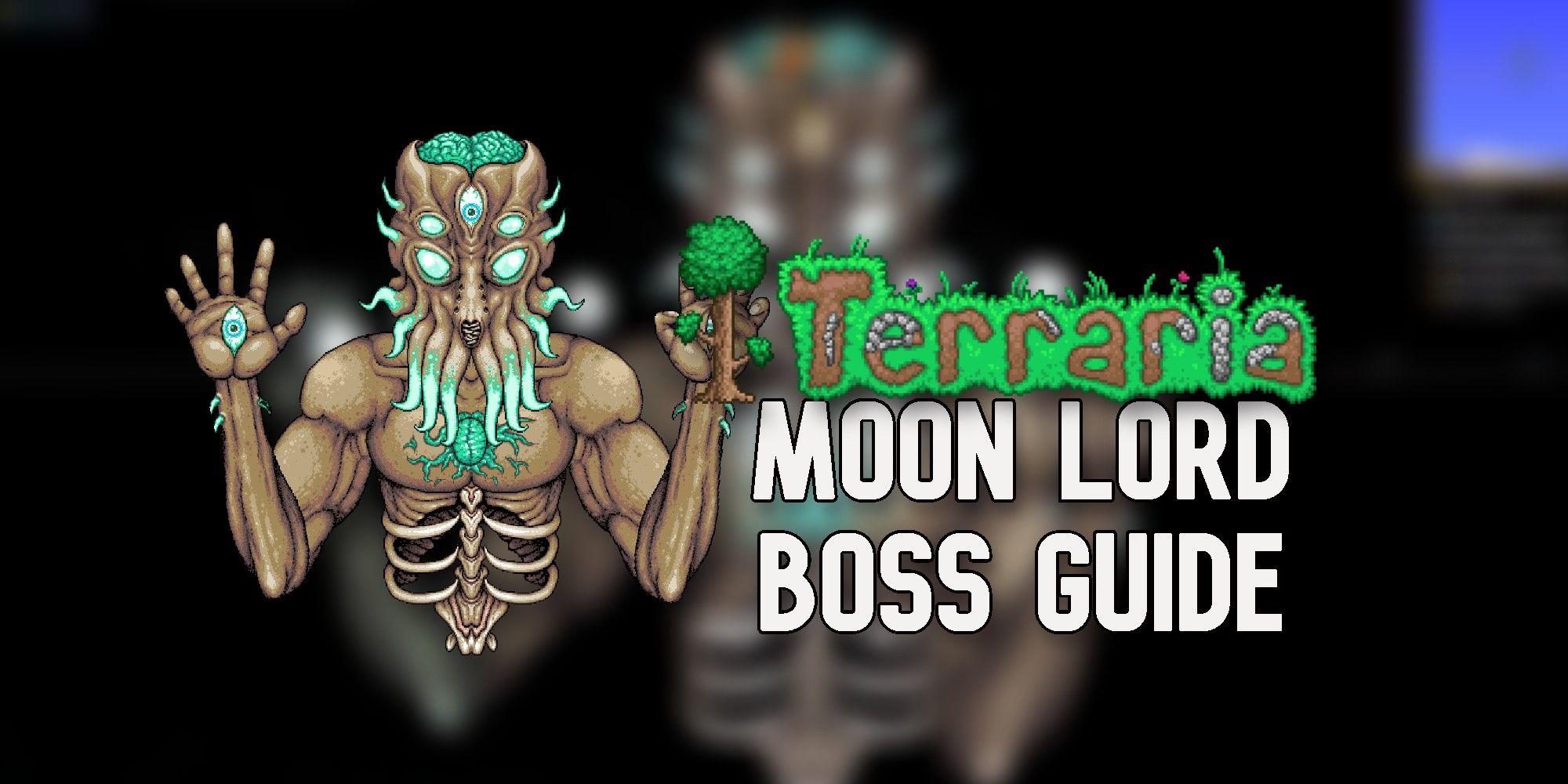 Terraria: Moon Lord Boss Guide