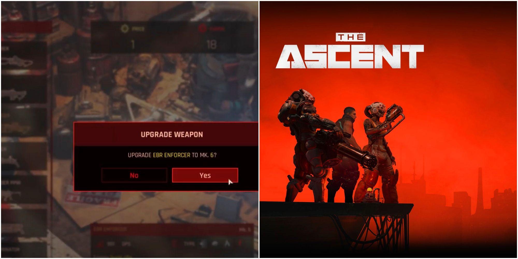 The Ascent: Cómo actualizar las armas