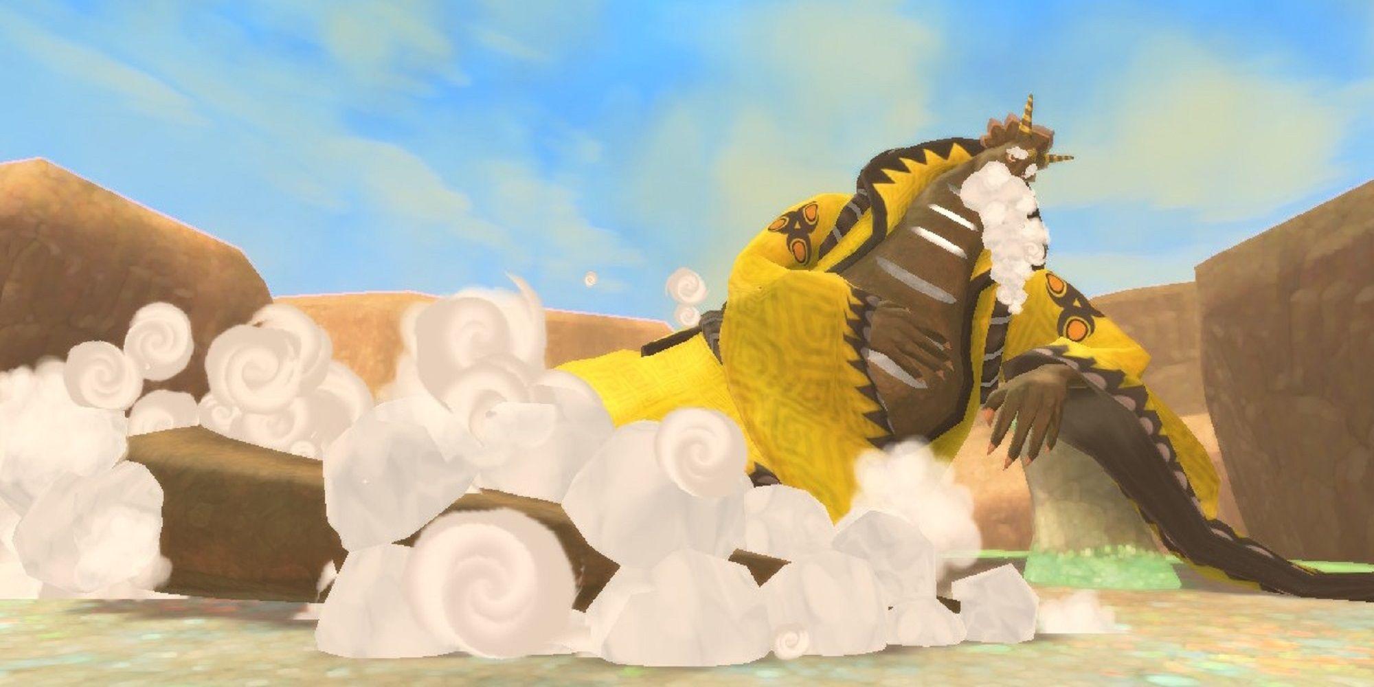 The Legend Of Zelda: Skyward Sword HD - Song Of The Hero, Tutorial de Lanayru