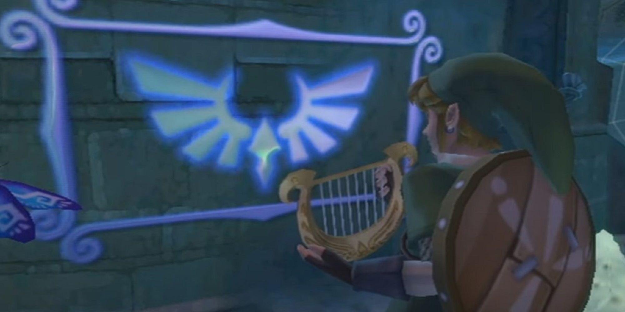 The Legend Of Zelda: Skyward Sword HD - Todos los símbolos de pared de la diosa