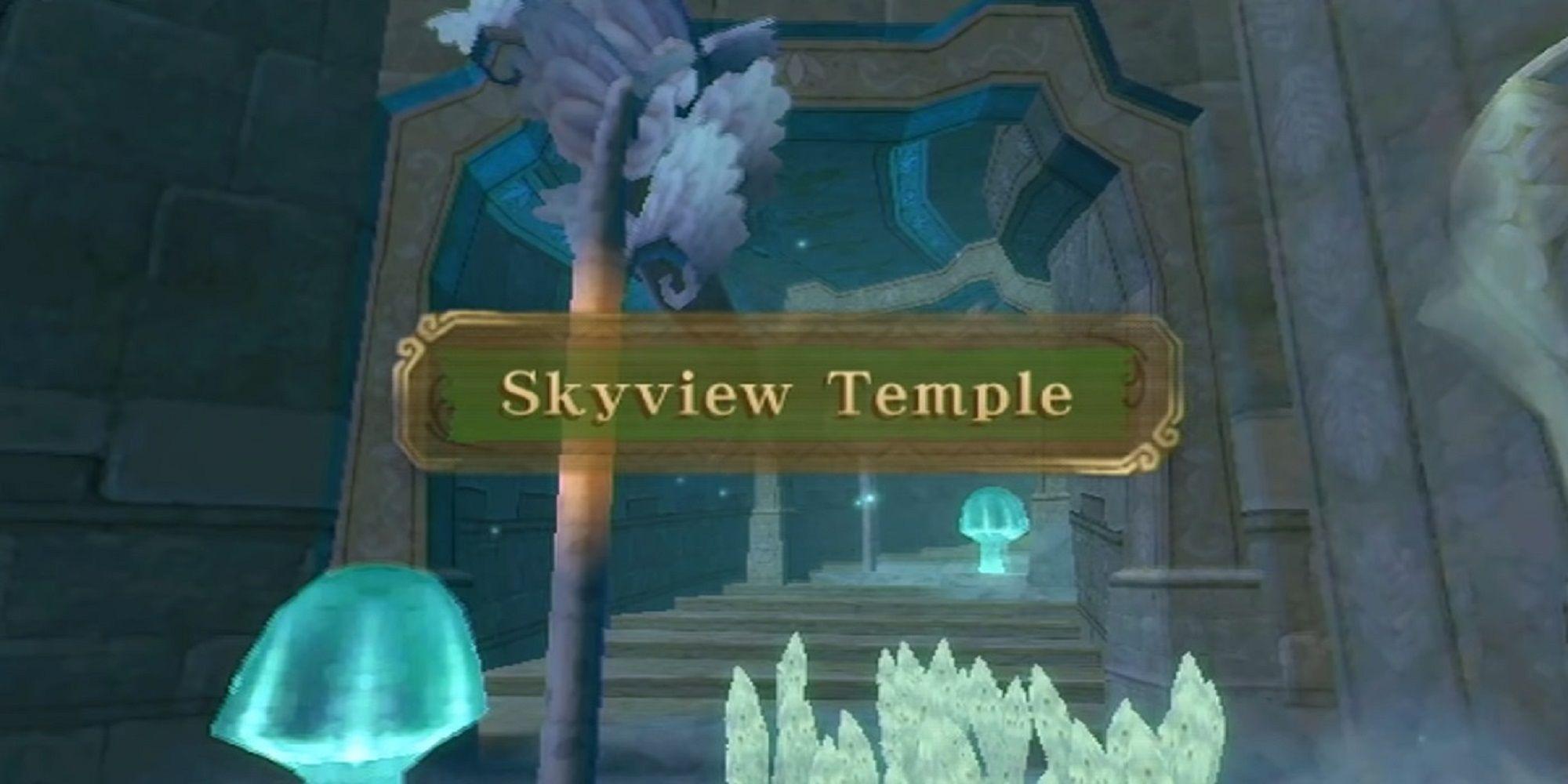 The Legend Of Zelda: Skyward Sword HD - Tutorial del templo Skyview