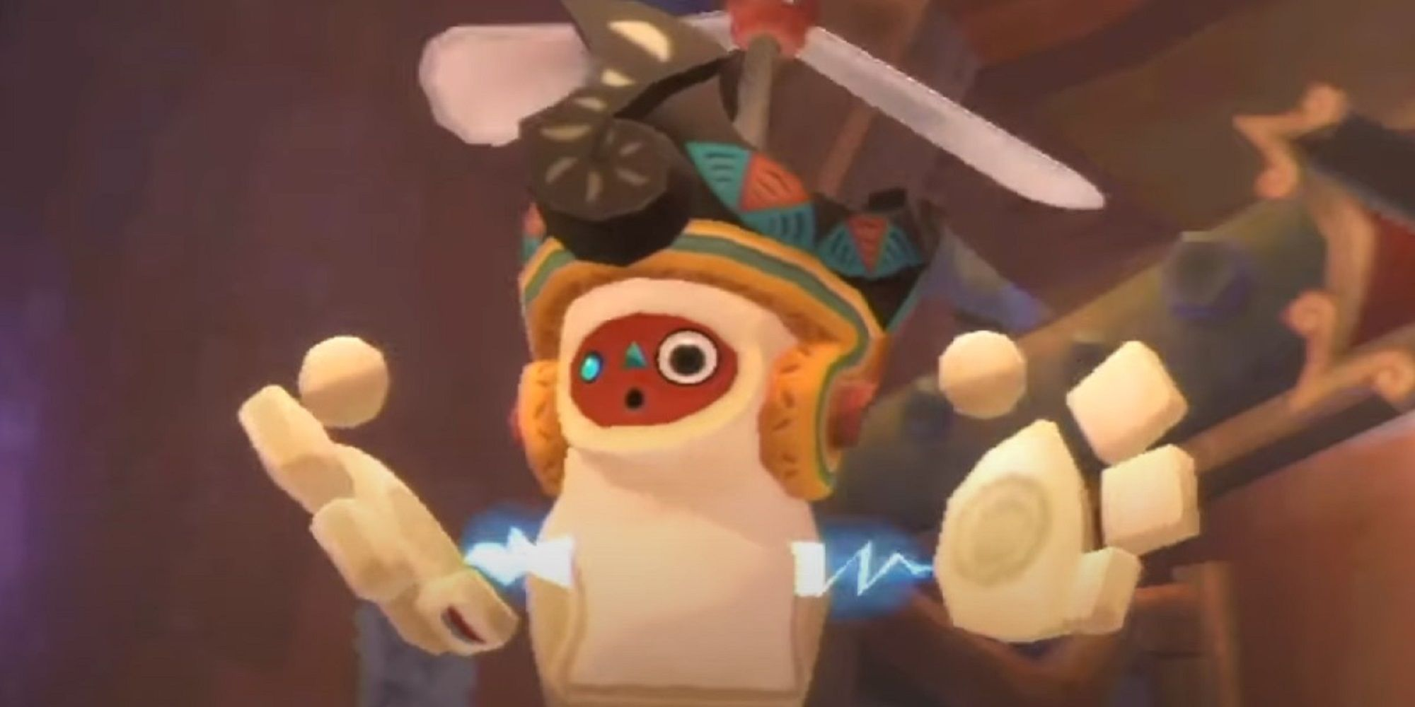 The Legend Of Zelda: Skyward Sword HD - Ubicación de la hélice del ventilador del molino de viento