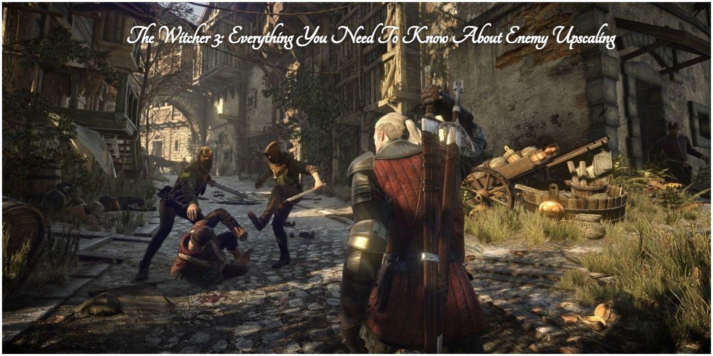 The Witcher 3: todo lo que necesitas saber sobre el aumento de escala de enemigos