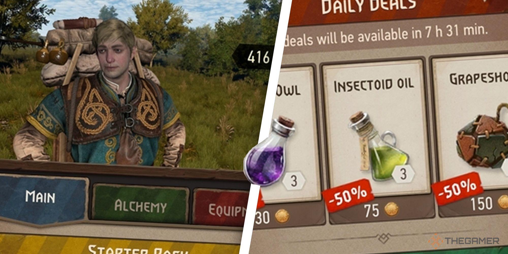 The Witcher Monster Slayer: una guía para la tienda del juego