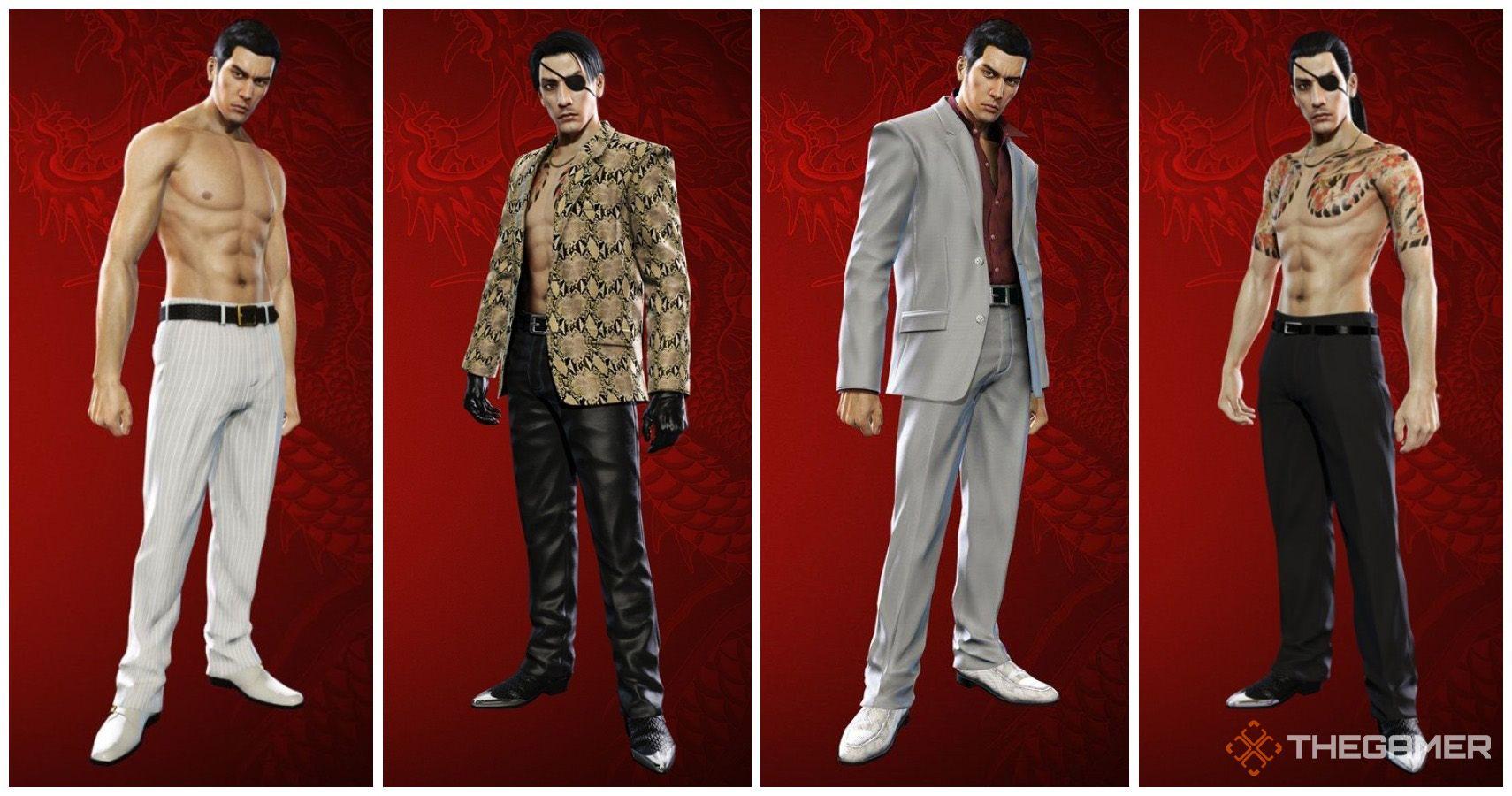Yakuza 0: Dónde conseguir y cambiar de atuendo