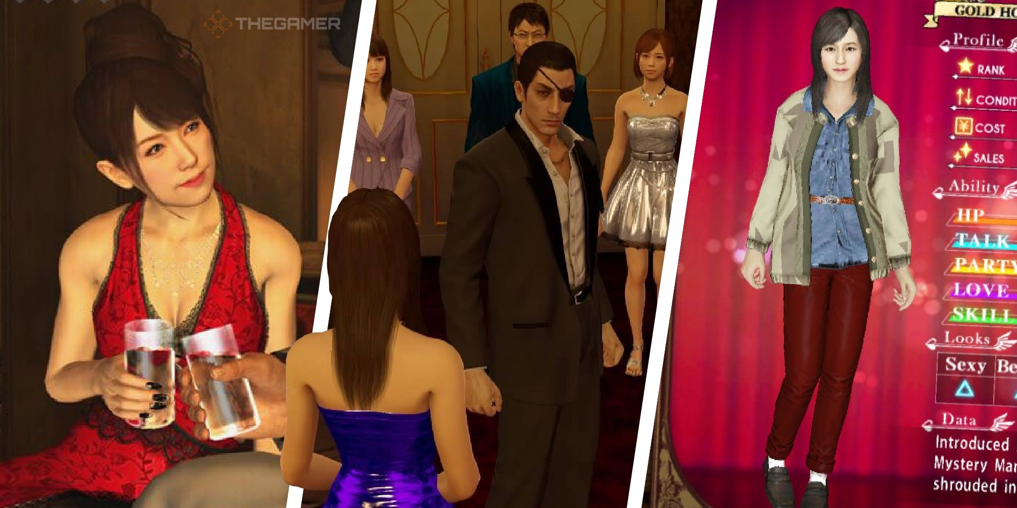 Yakuza 0: Guía de anfitrionas